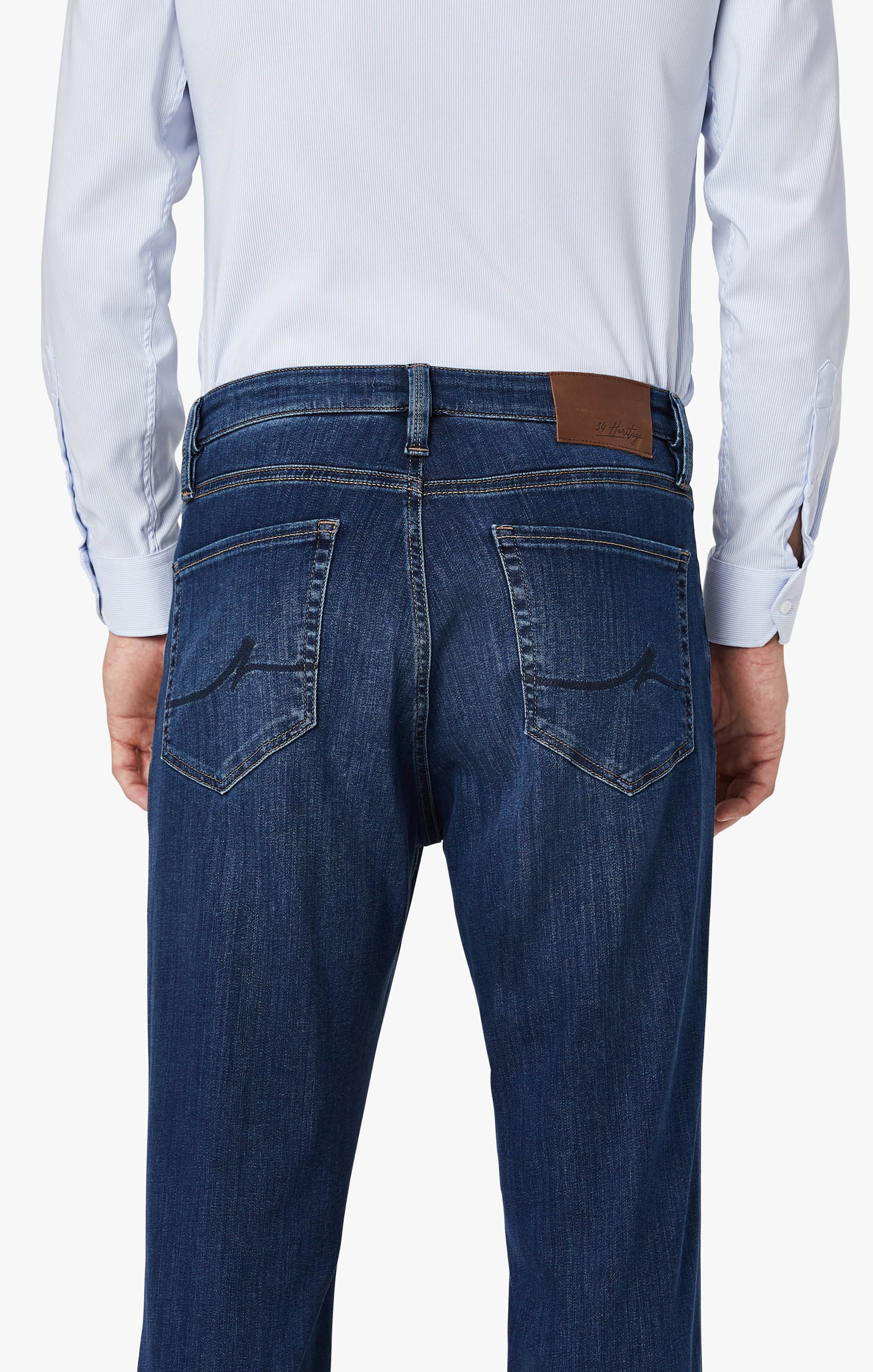 Cool Tapered Leg Jeans In Mid Siena Image 6