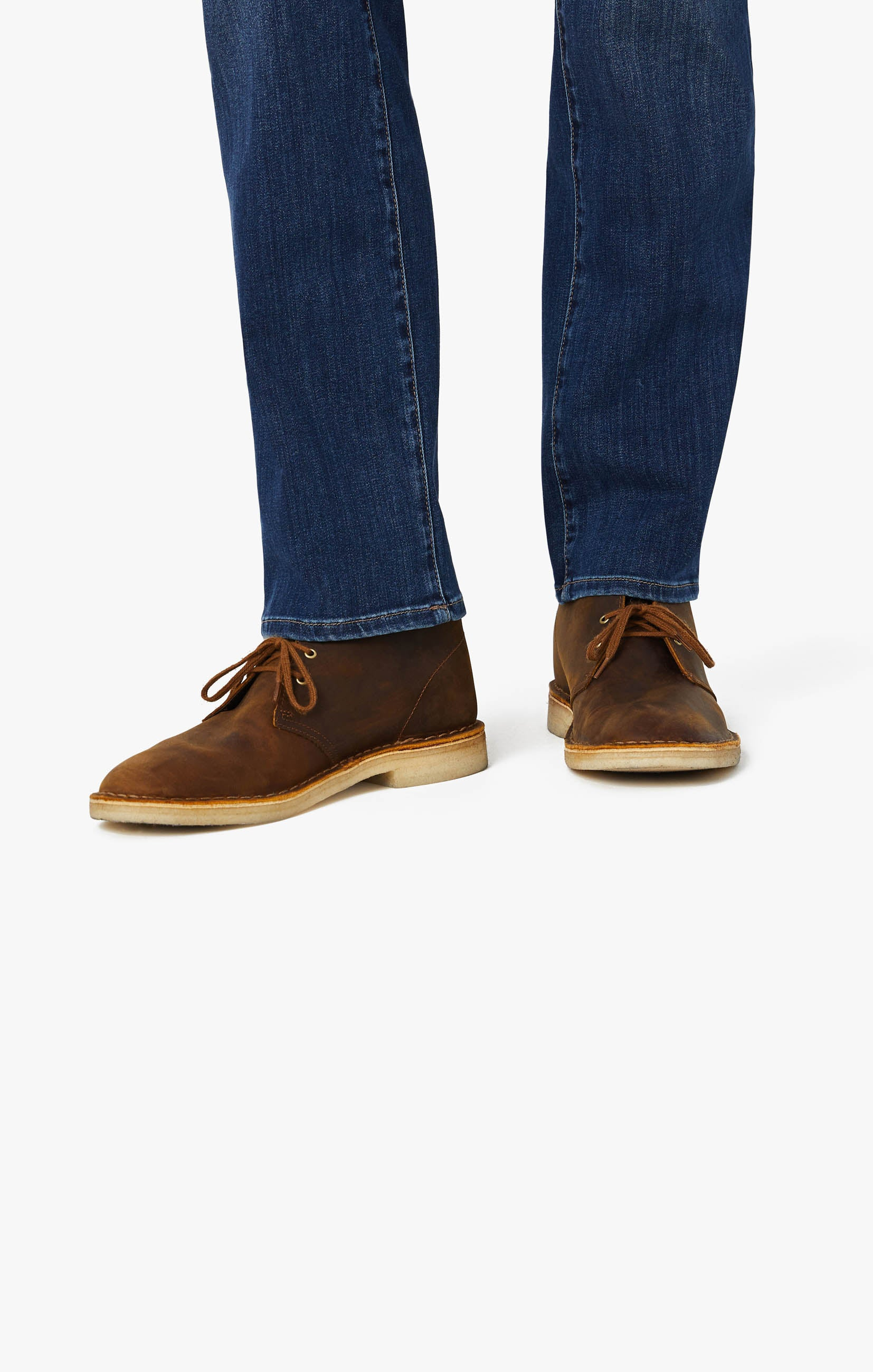 Cool Tapered Leg Jeans In Mid Siena Image 8