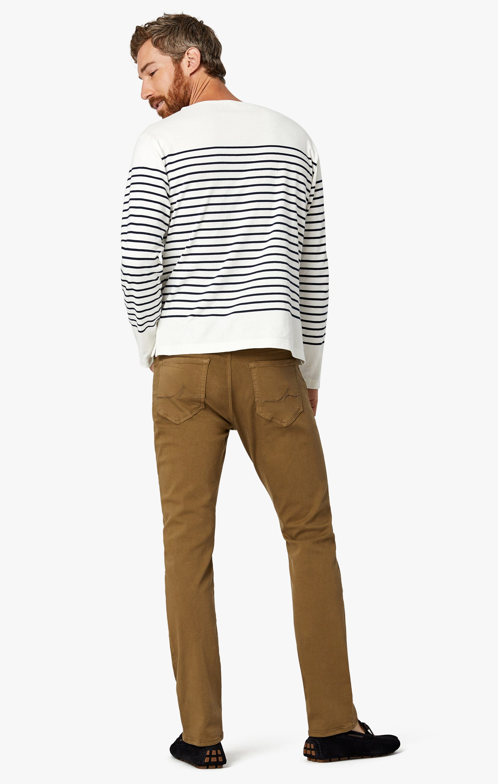Cool Tapered Leg Pants In Tobacco Comfort Image 11