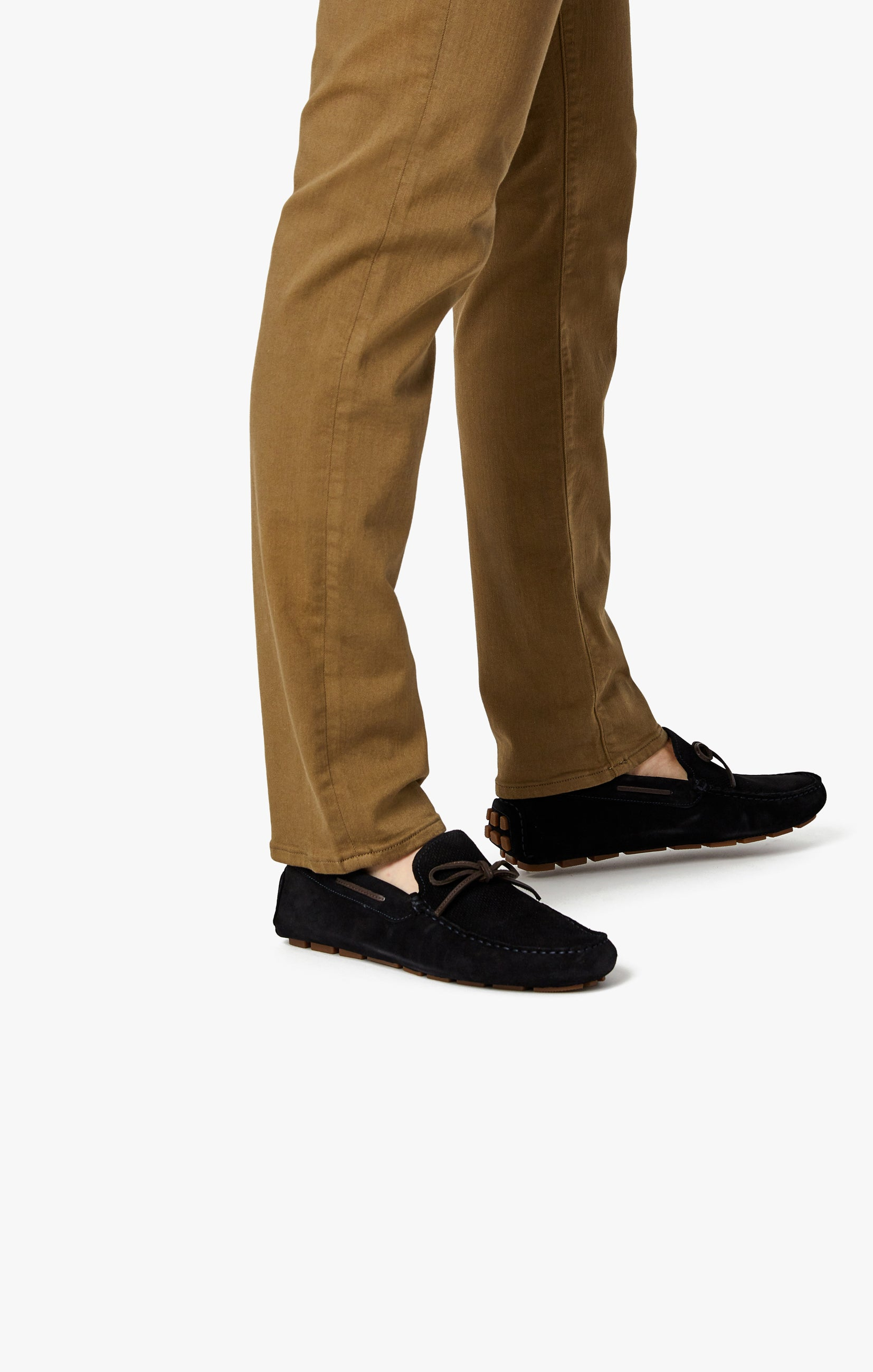 Cool Tapered Leg Pants In Tobacco Comfort Image 12
