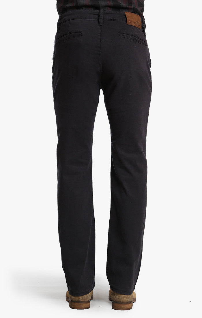 Naples Chino In Navy Twill Image 3