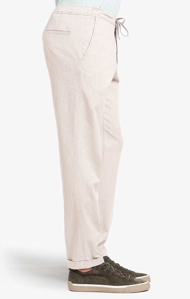 Carter Slim Leg In Beige Heather Cashmere - 34 Heritage