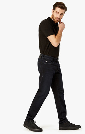 Cool Tapered Leg Jeans In Midnight Sporty