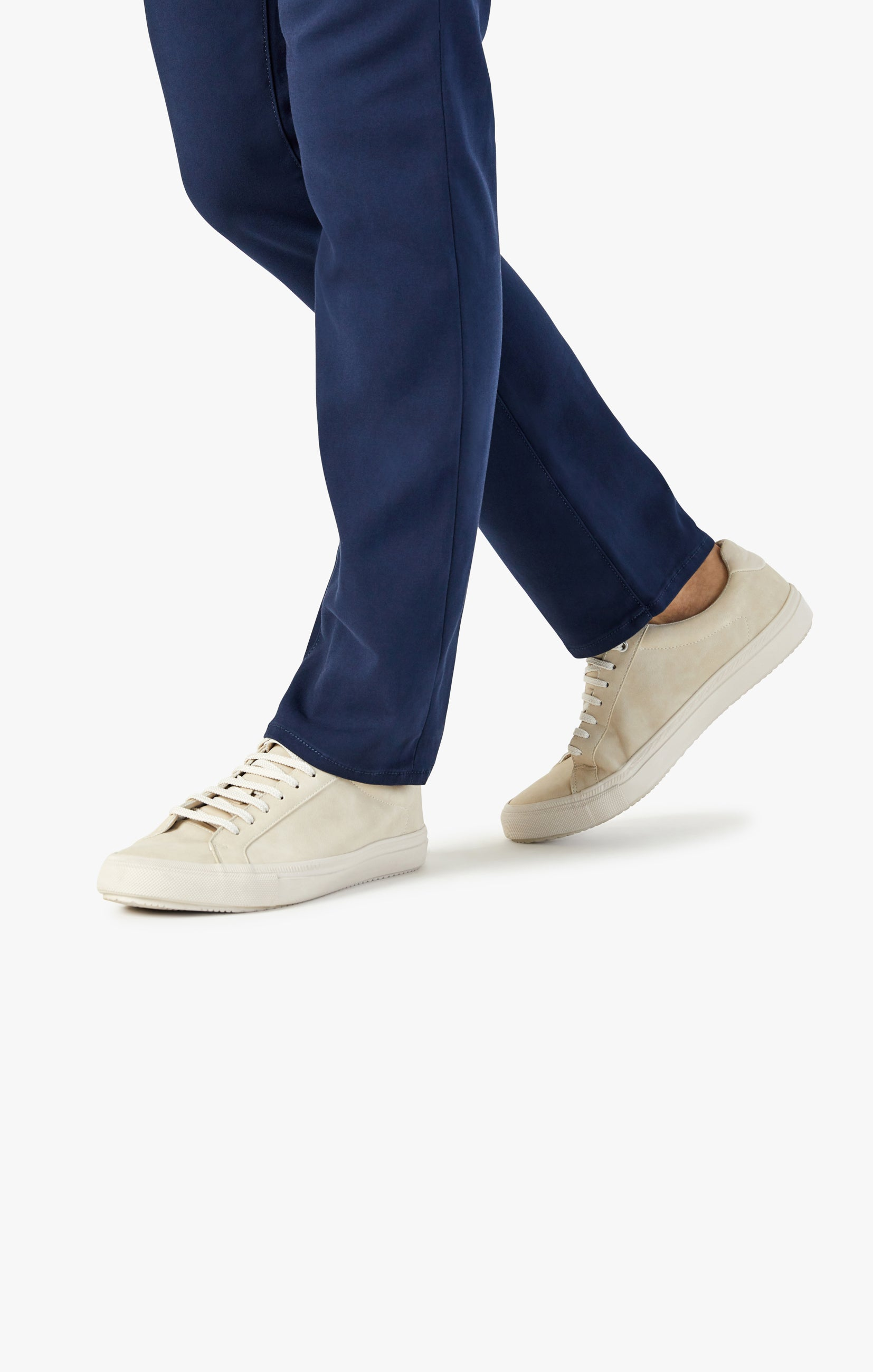 Verona Chino Pants in Navy High Flyer Image 6