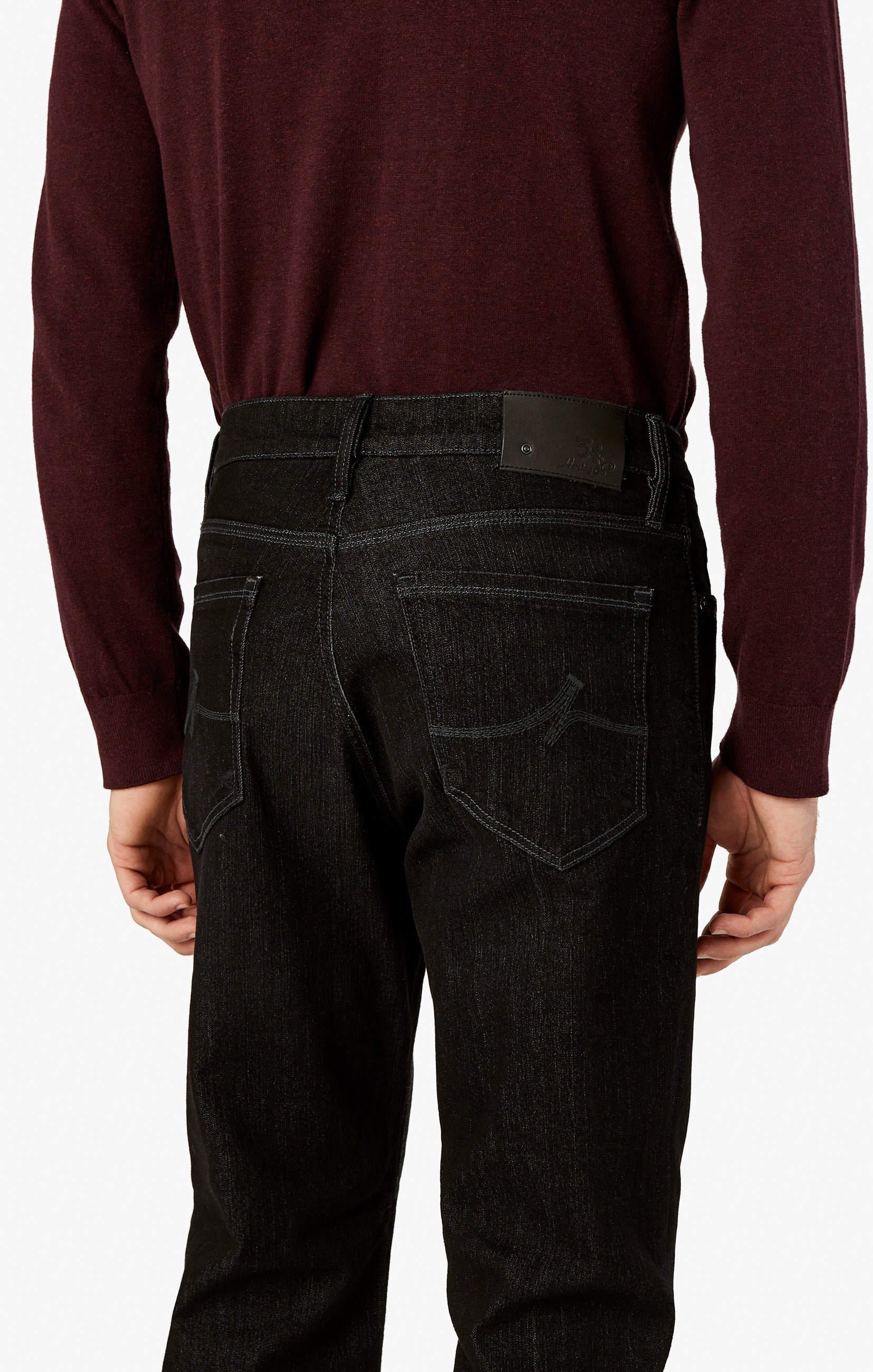 Charisma Relaxed Straight Jeans In Charcoal Comfort Image 6