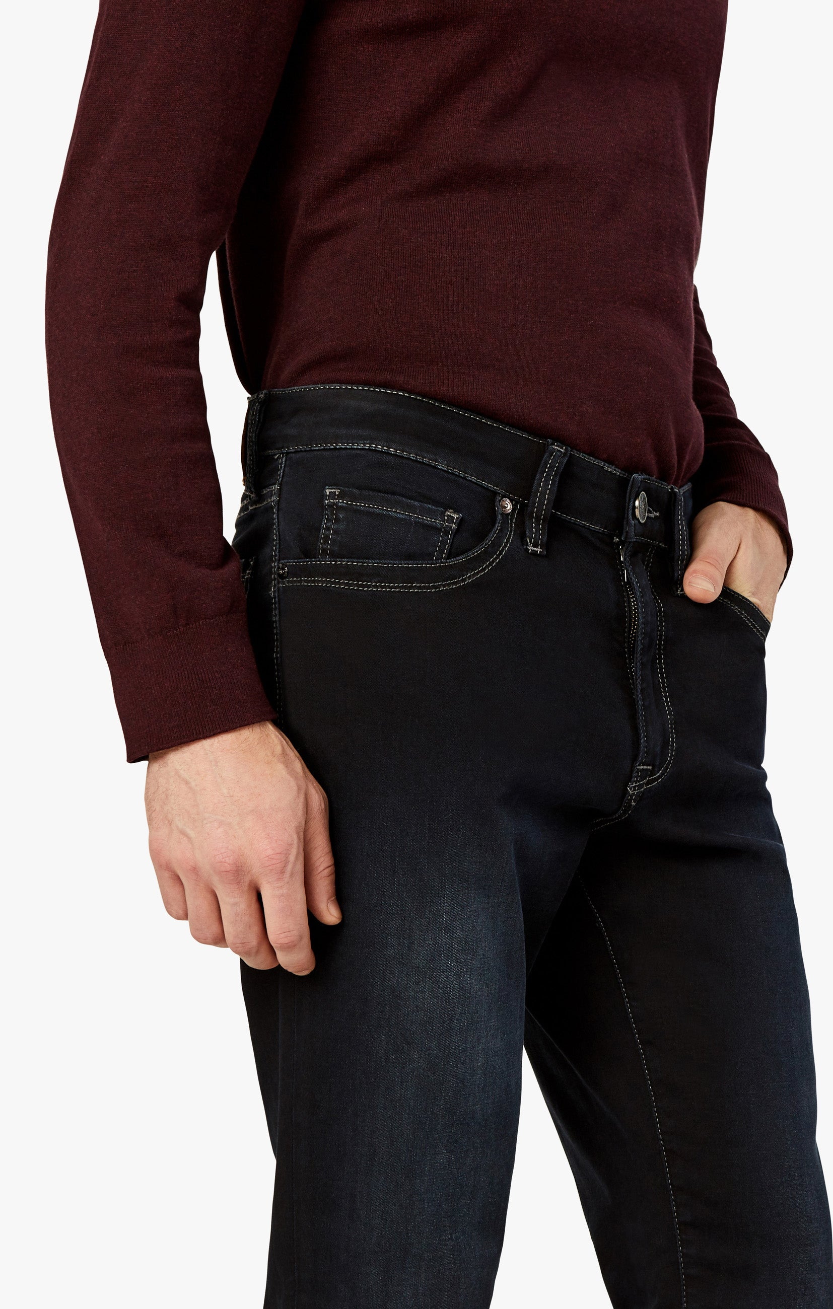 Charisma Relaxed Straight Jeans In Midnight Austin Image 8