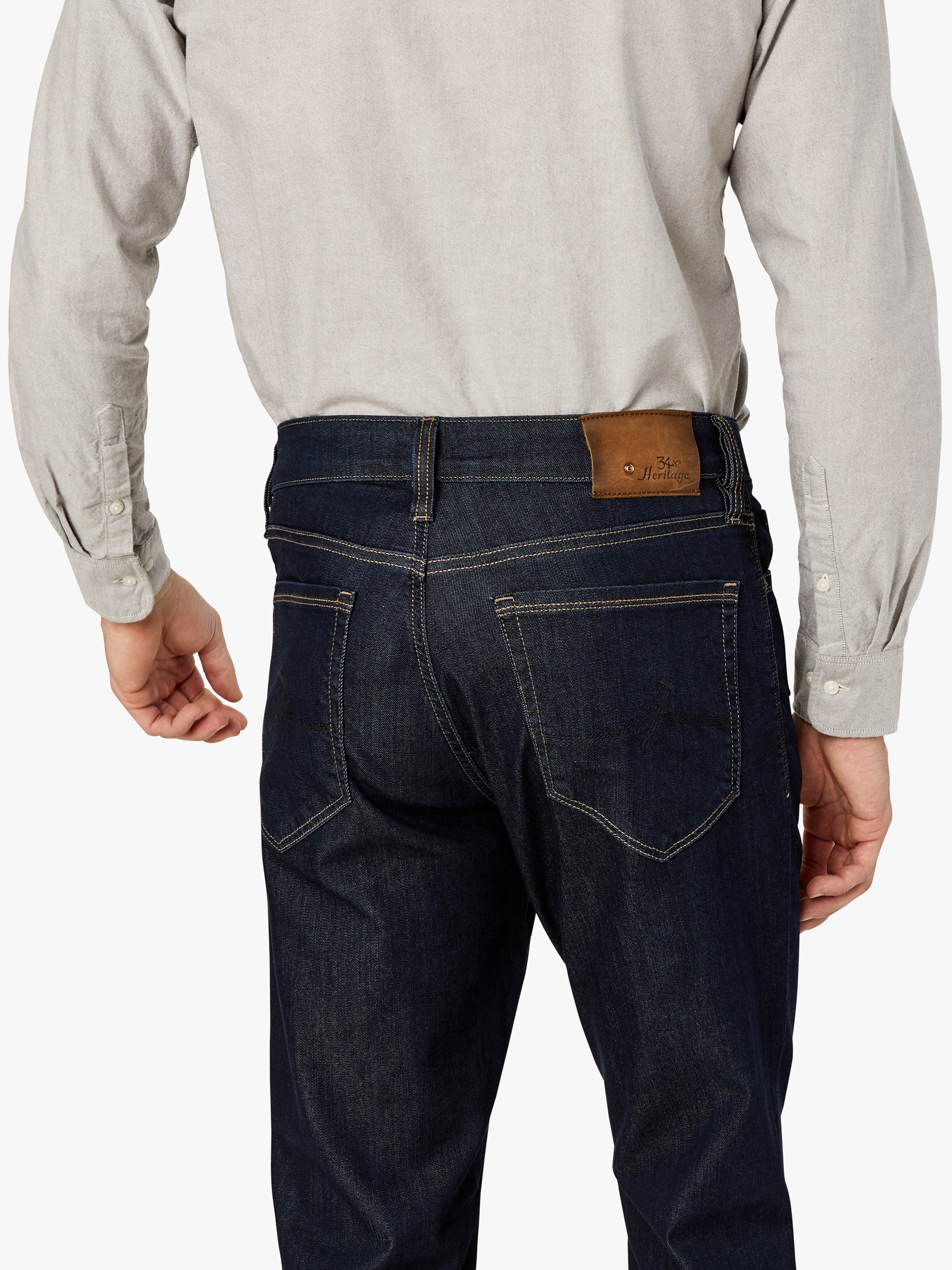 Charisma Relaxed Straight Jeans In Rinse Vintage Image 7