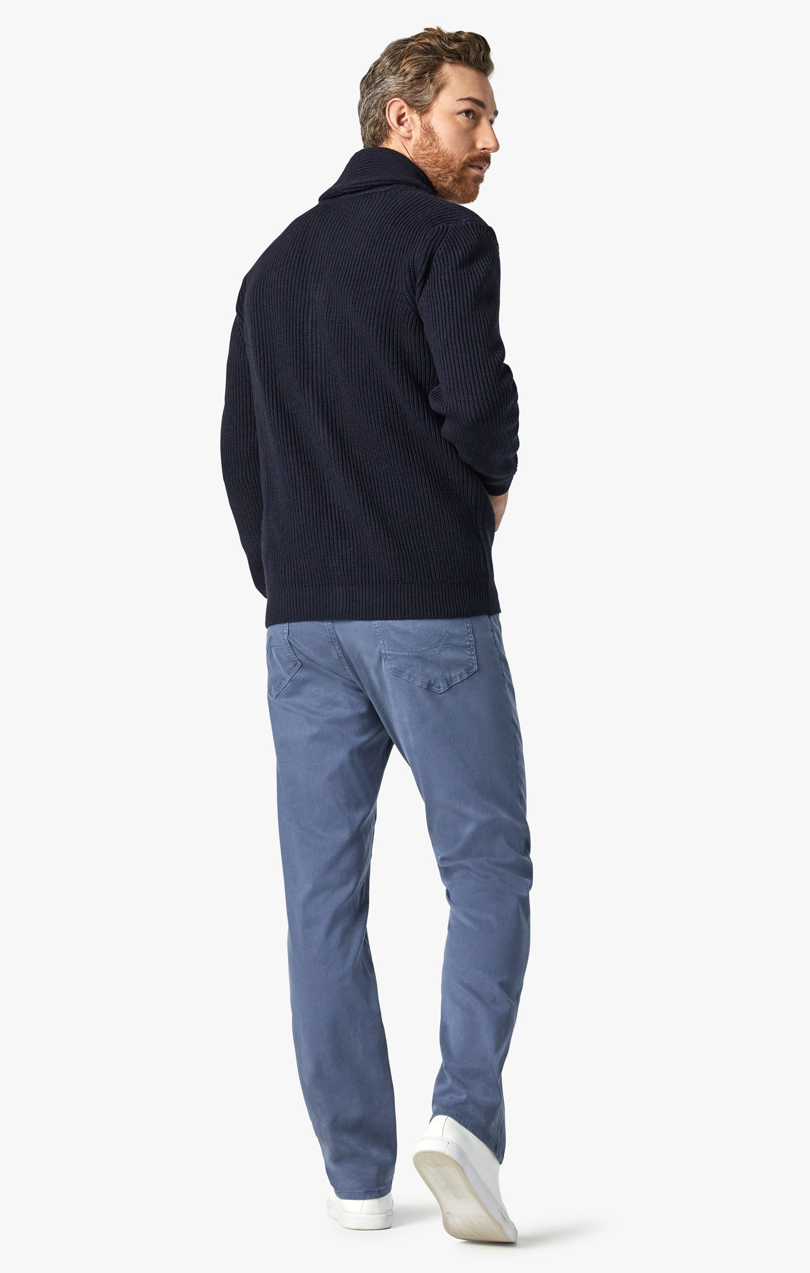 Charisma Relaxed Straight Pants In Horizon Soft Touch Image 3