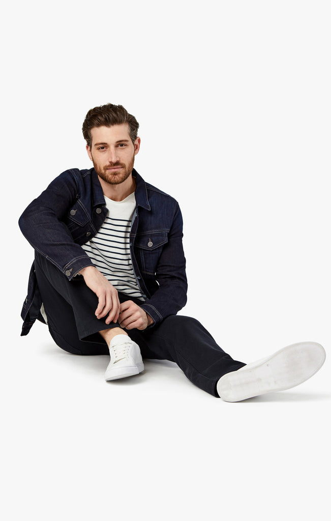 Charisma Relaxed Straight in Navy Oxford