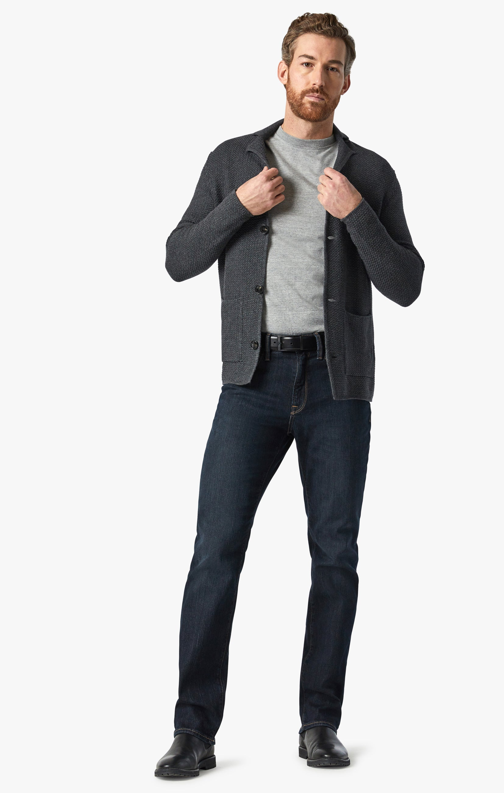 Charisma Relaxed Straight Jeans In Dark Comfort Image 1