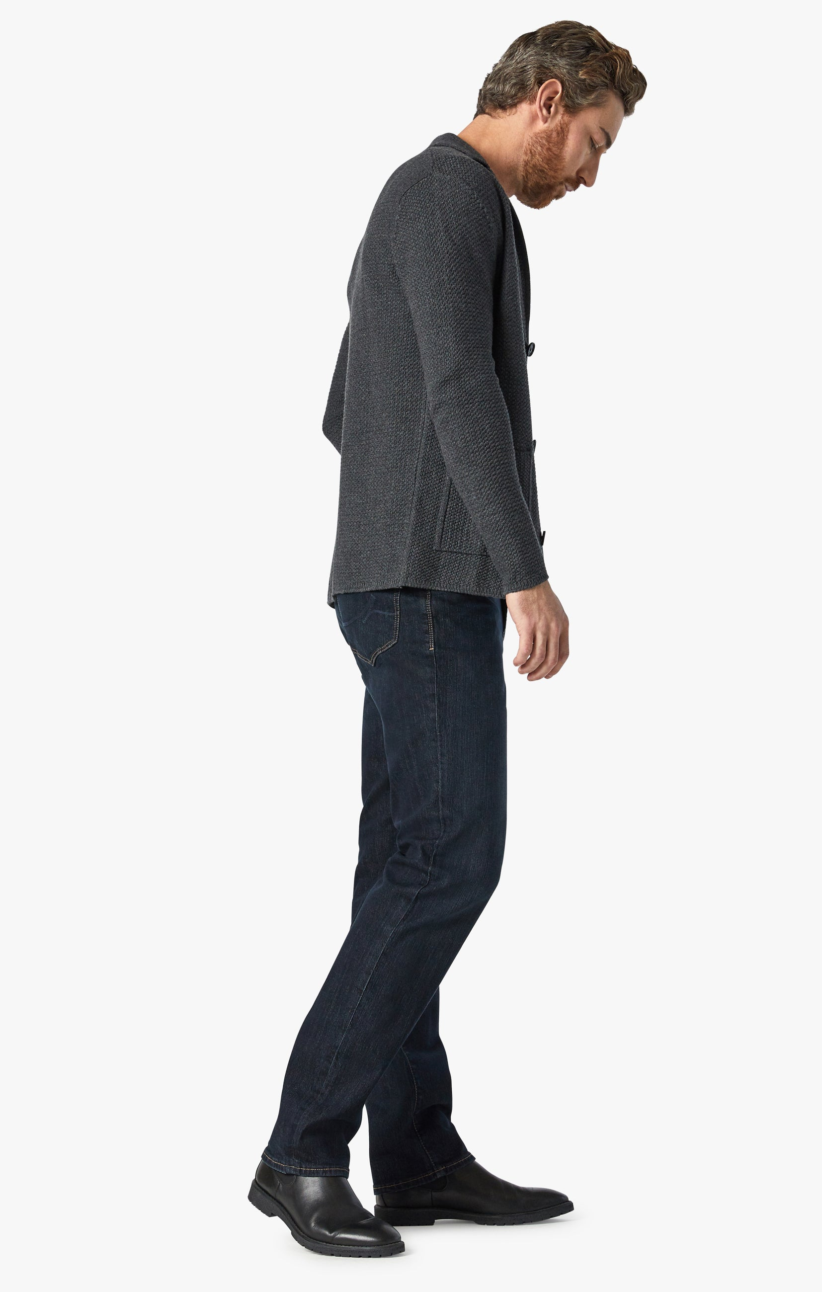 Charisma Relaxed Straight Jeans In Dark Comfort Image 3