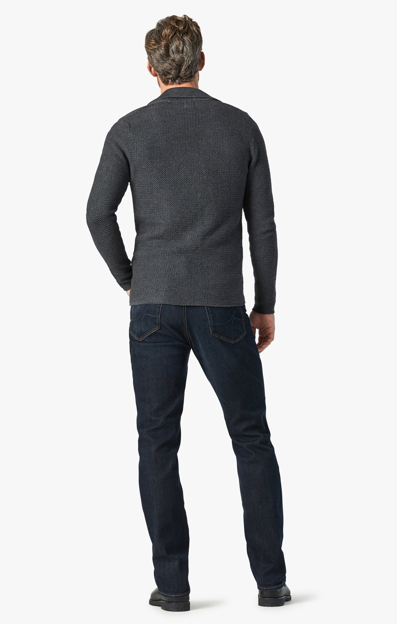 Charisma Relaxed Straight Jeans In Dark Comfort Image 4