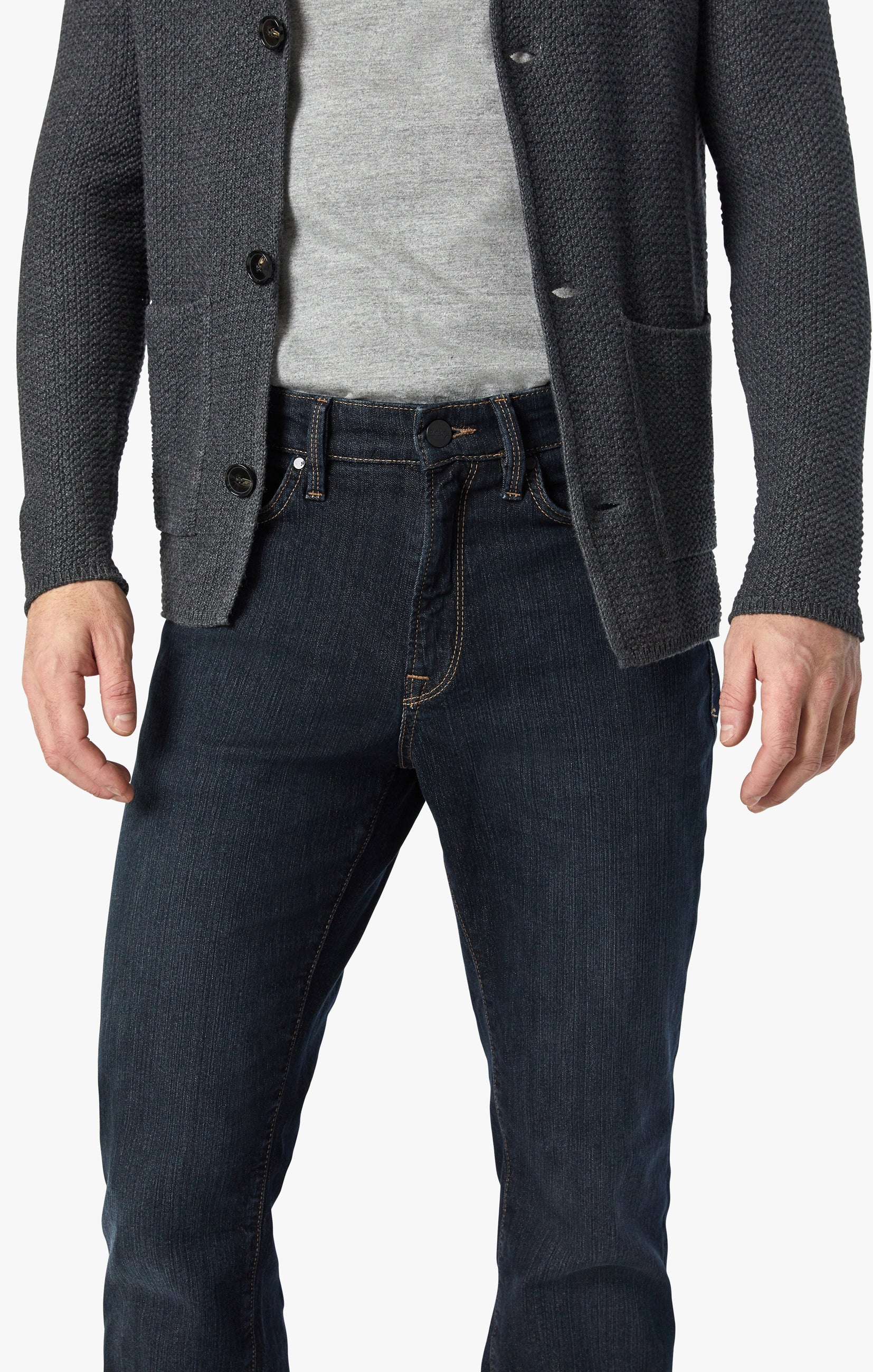 Charisma Relaxed Straight Jeans In Dark Comfort Image 5