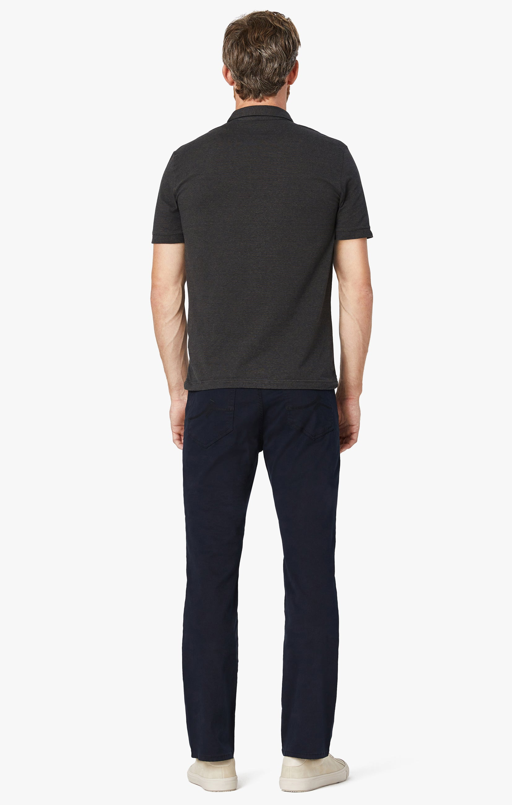 Charisma Relaxed Straight Pants in Navy Twill Image 8