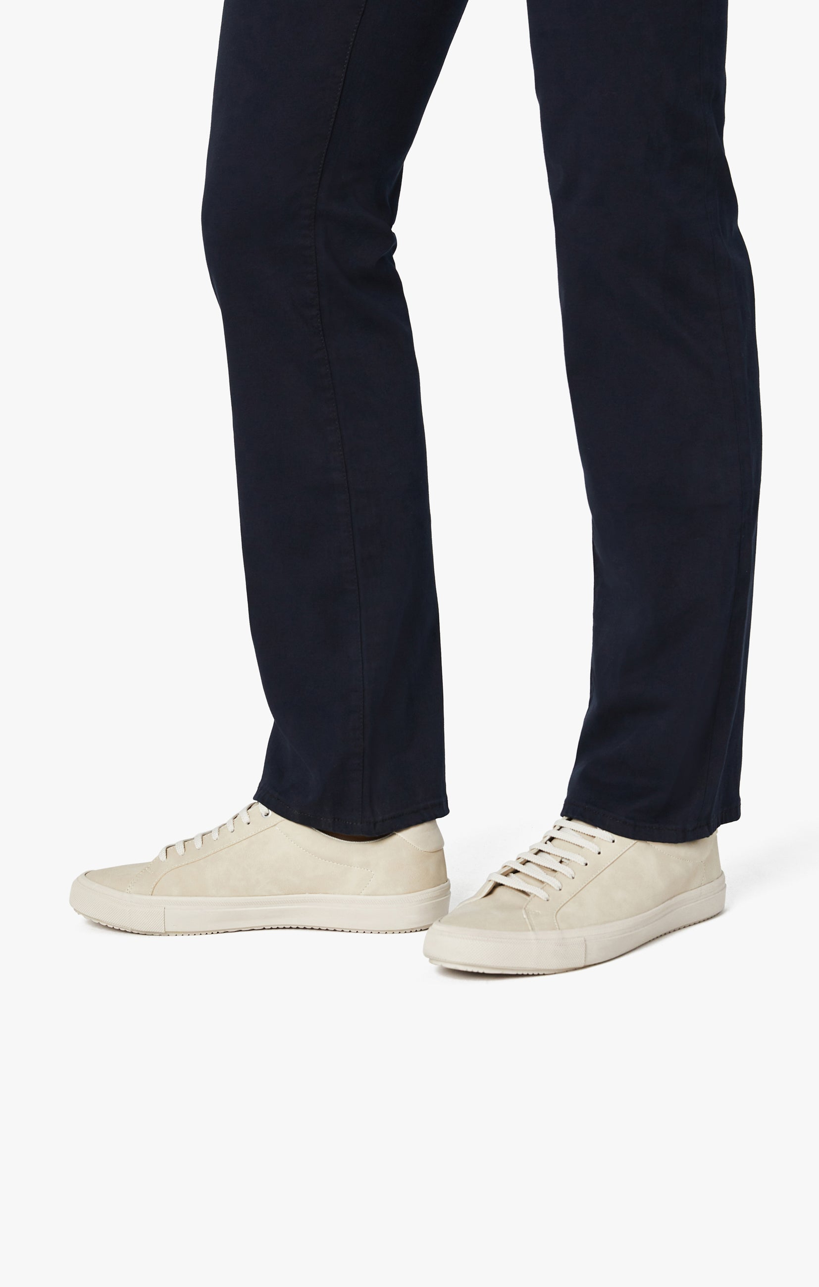 Charisma Relaxed Straight Pants in Navy Twill Image 5
