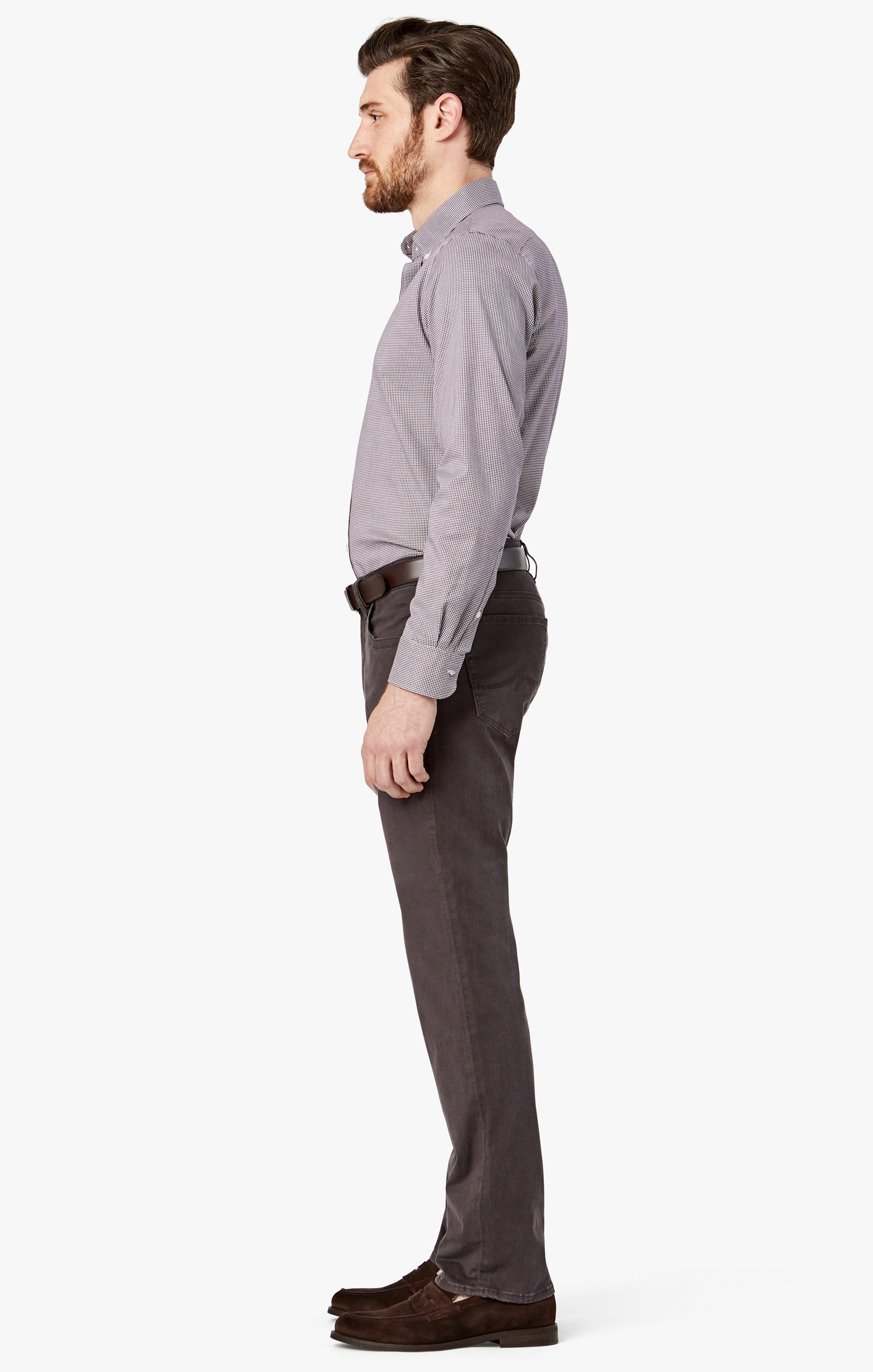 Charisma Relaxed Straight in Anthracite Twill Image 3