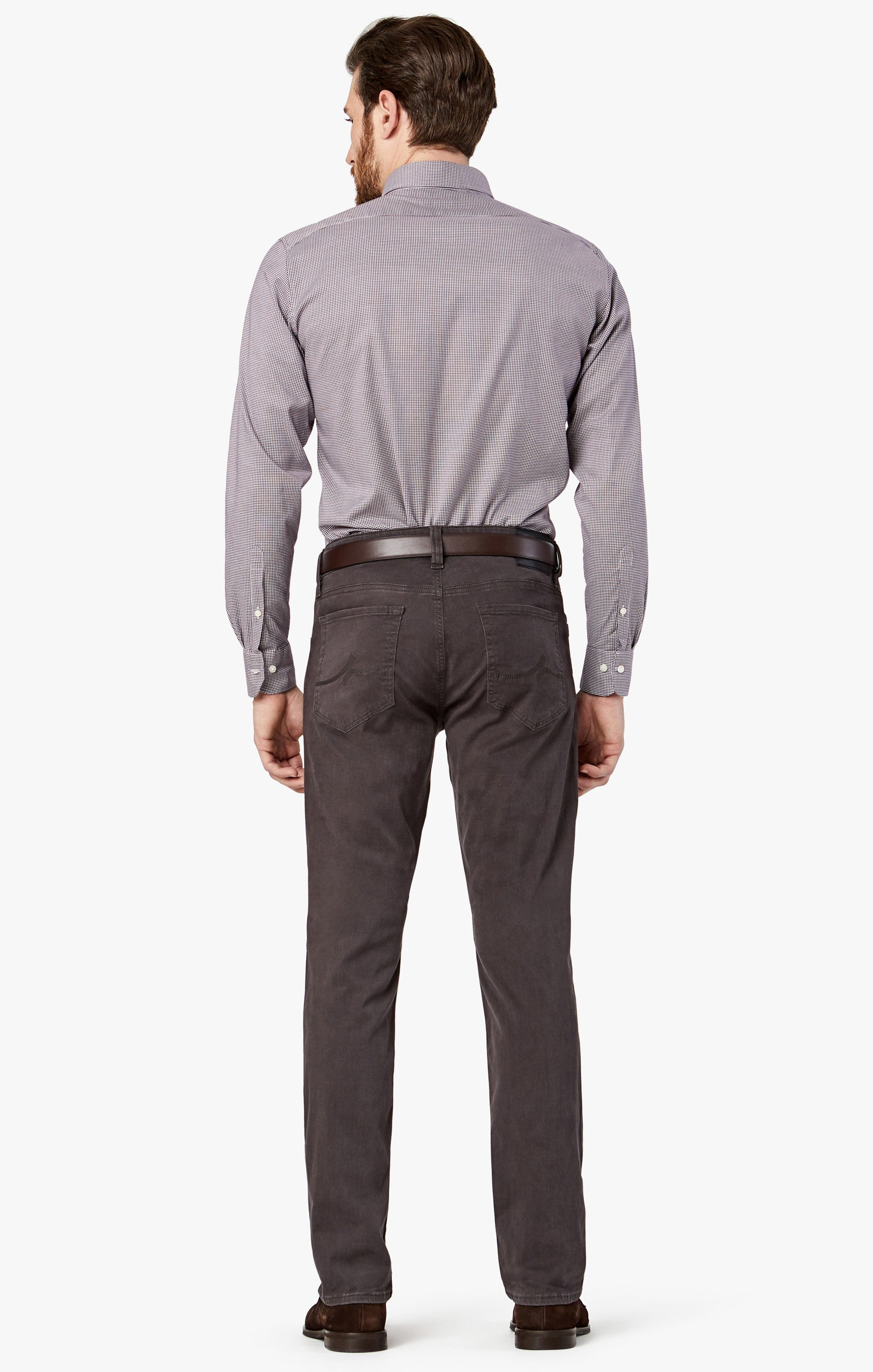 Charisma Relaxed Straight in Anthracite Twill Image 4