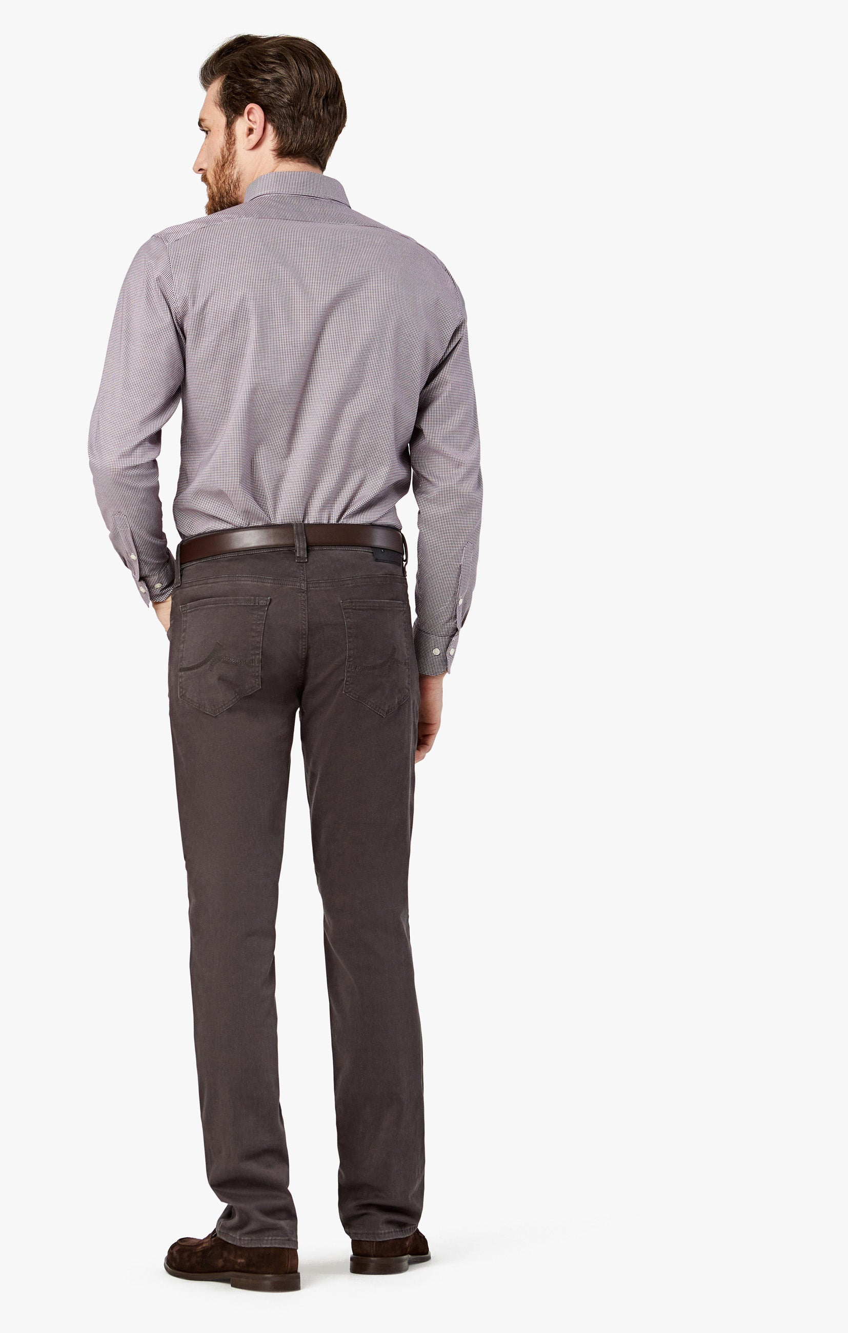 Charisma Relaxed Straight in Anthracite Twill Image 5