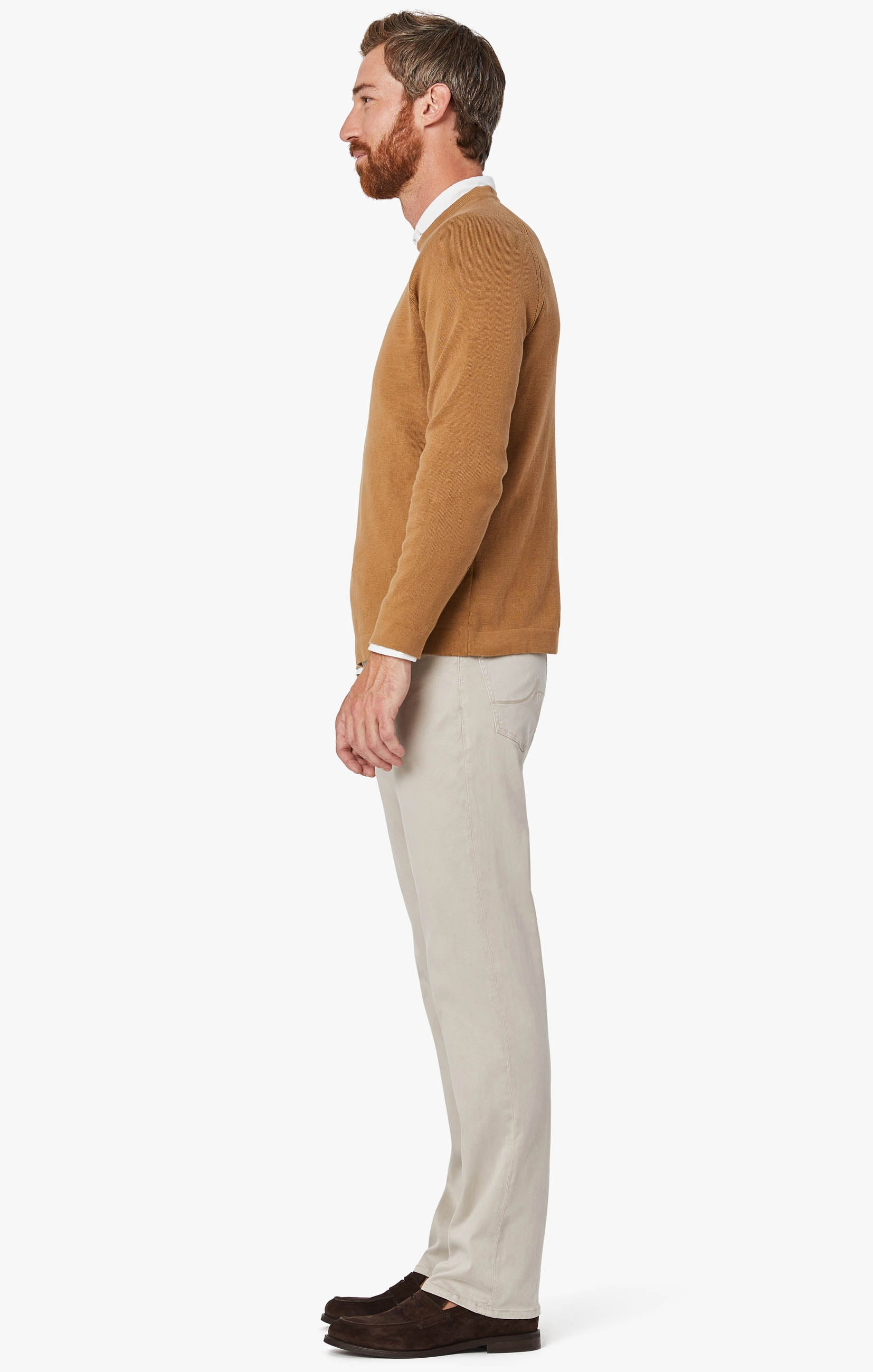 Charisma Relaxed Straight Leg Pants in Dawn Twill Image 3