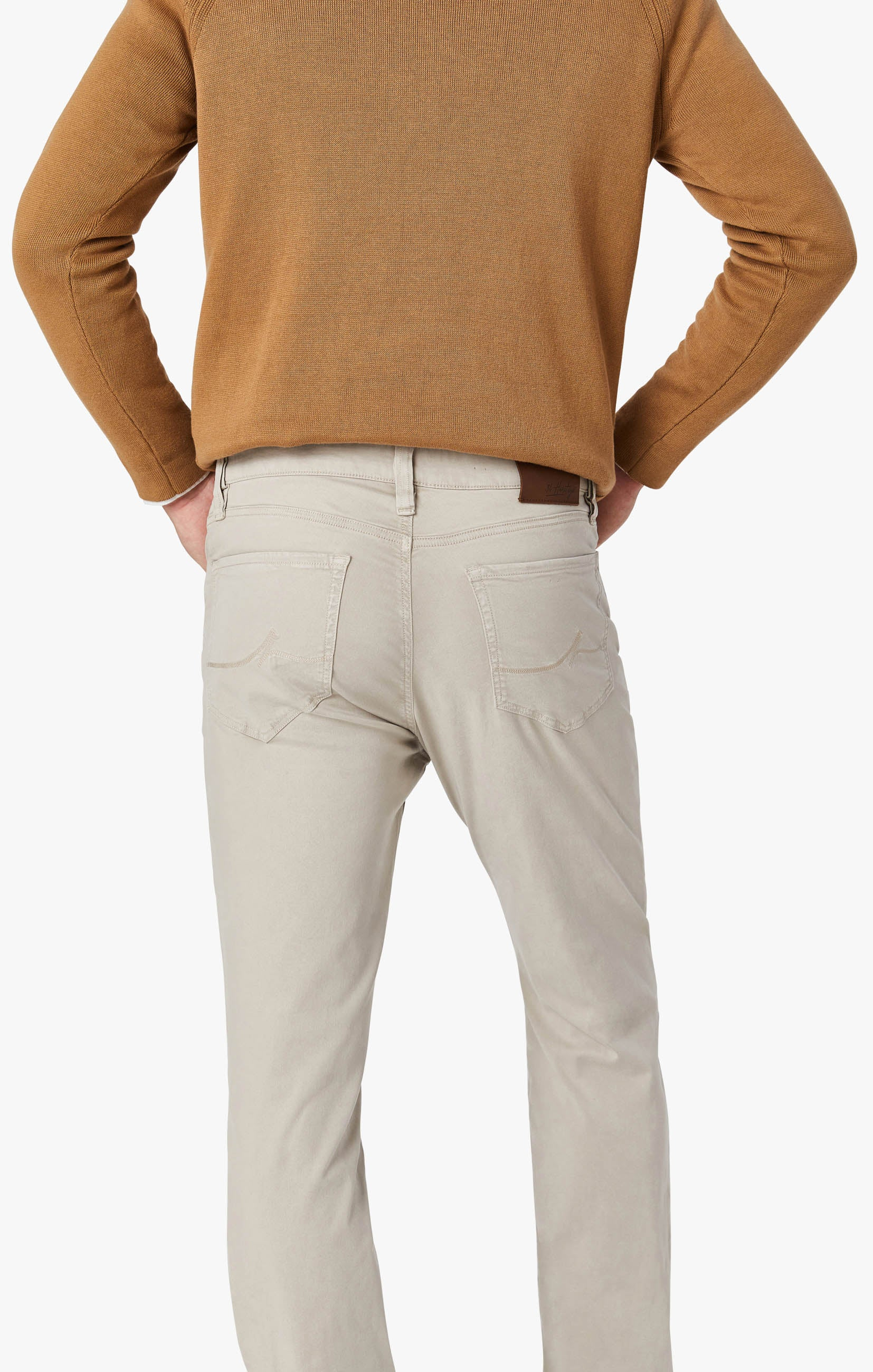 Charisma Relaxed Straight Leg Pants in Dawn Twill Image 6
