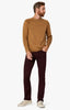 Charisma Relaxed Straight Pants in Wine Twill Thumbnail 1