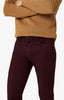 Charisma Relaxed Straight Pants in Wine Twill Thumbnail 2