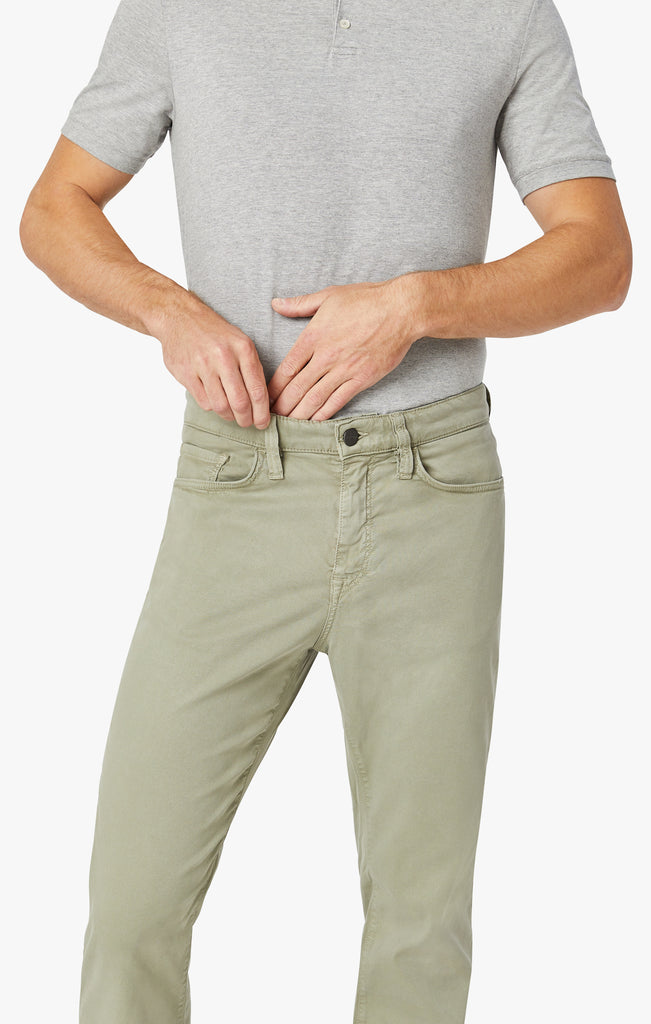 Charisma Relaxed Straight Pants In Sage Soft Touch