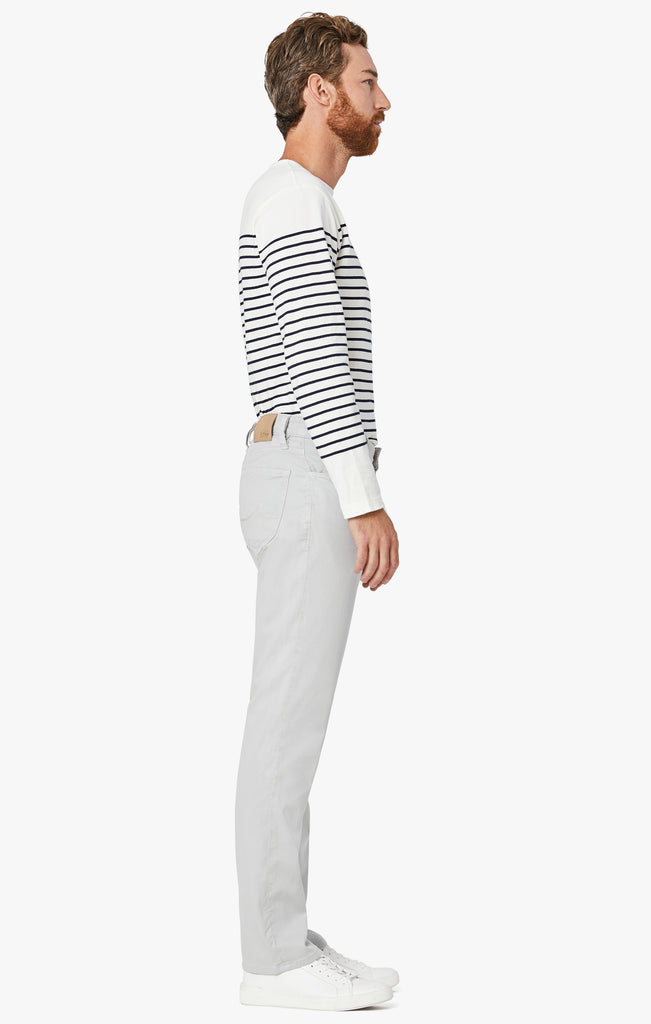 Charisma Relaxed Straight Pants In Stone Soft Touch