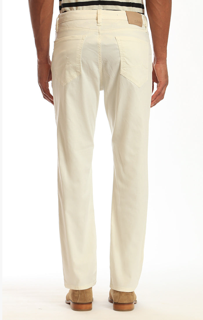 Charisma Relaxed Straight Pants In Natural Soft Touch Image 3