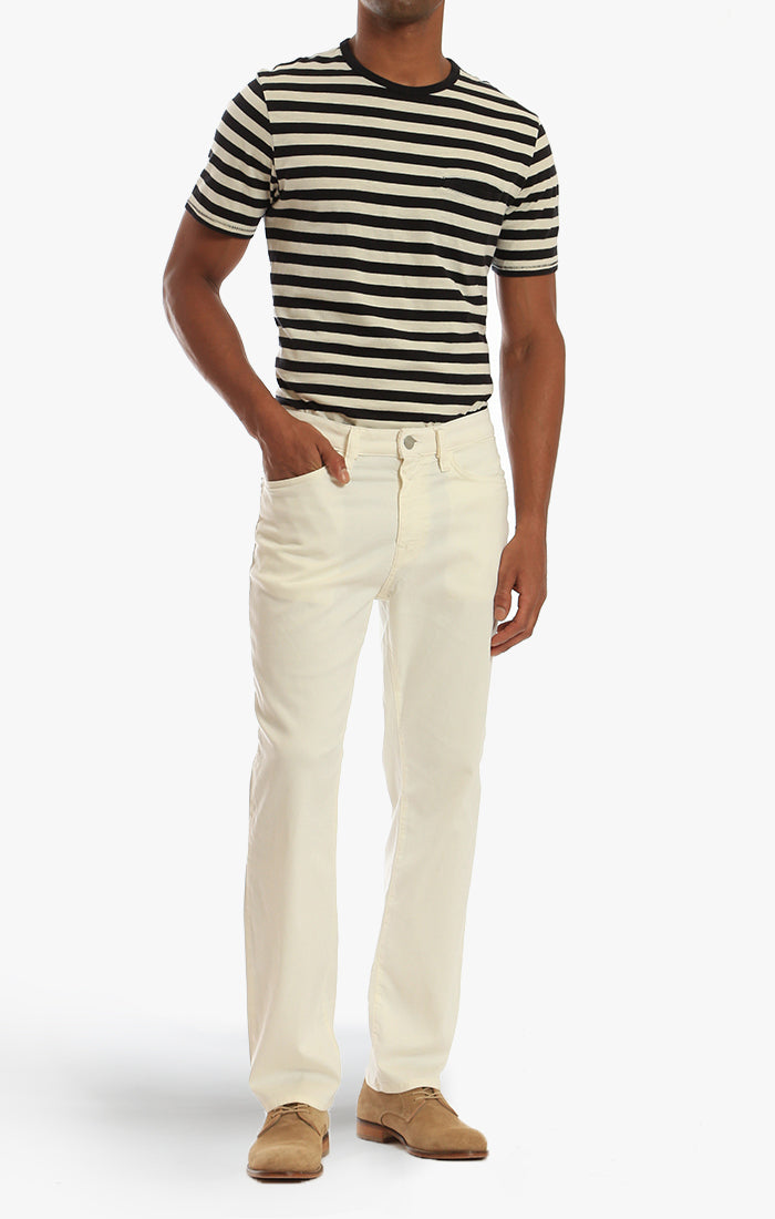 Charisma Relaxed Straight Pants In Natural Soft Touch Image 1