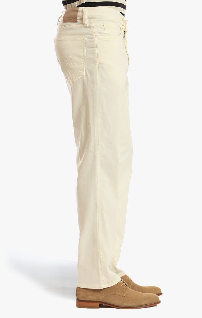 Charisma Relaxed Straight Pants In Natural Soft Touch Image 4