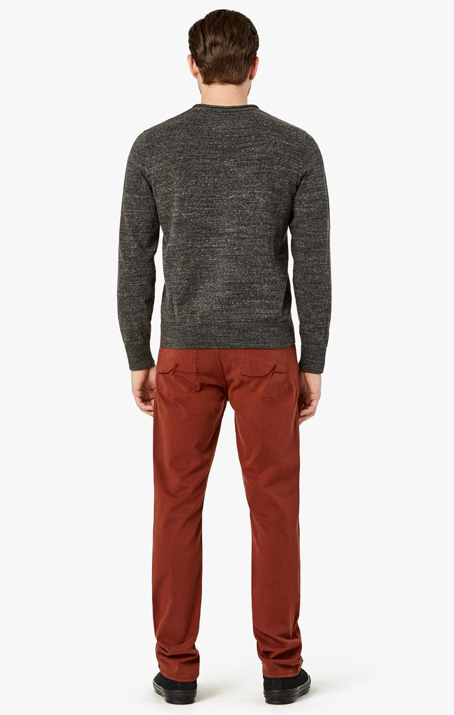 Charisma Relaxed Straight in Rust Twill - 34 Heritage