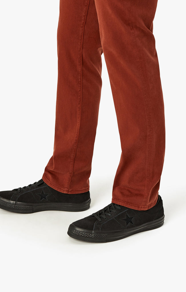 Charisma Relaxed Straight in Rust Twill