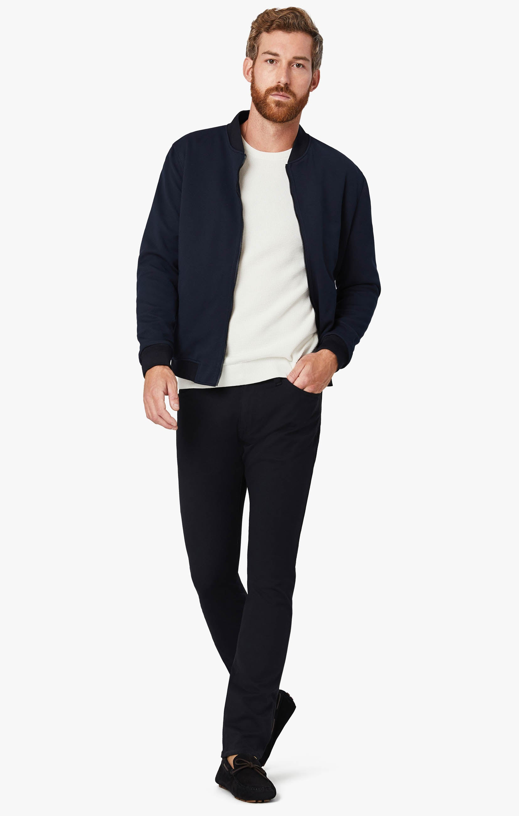 Charisma Classic Fit Pants in Navy Winter Cashmere Image 2
