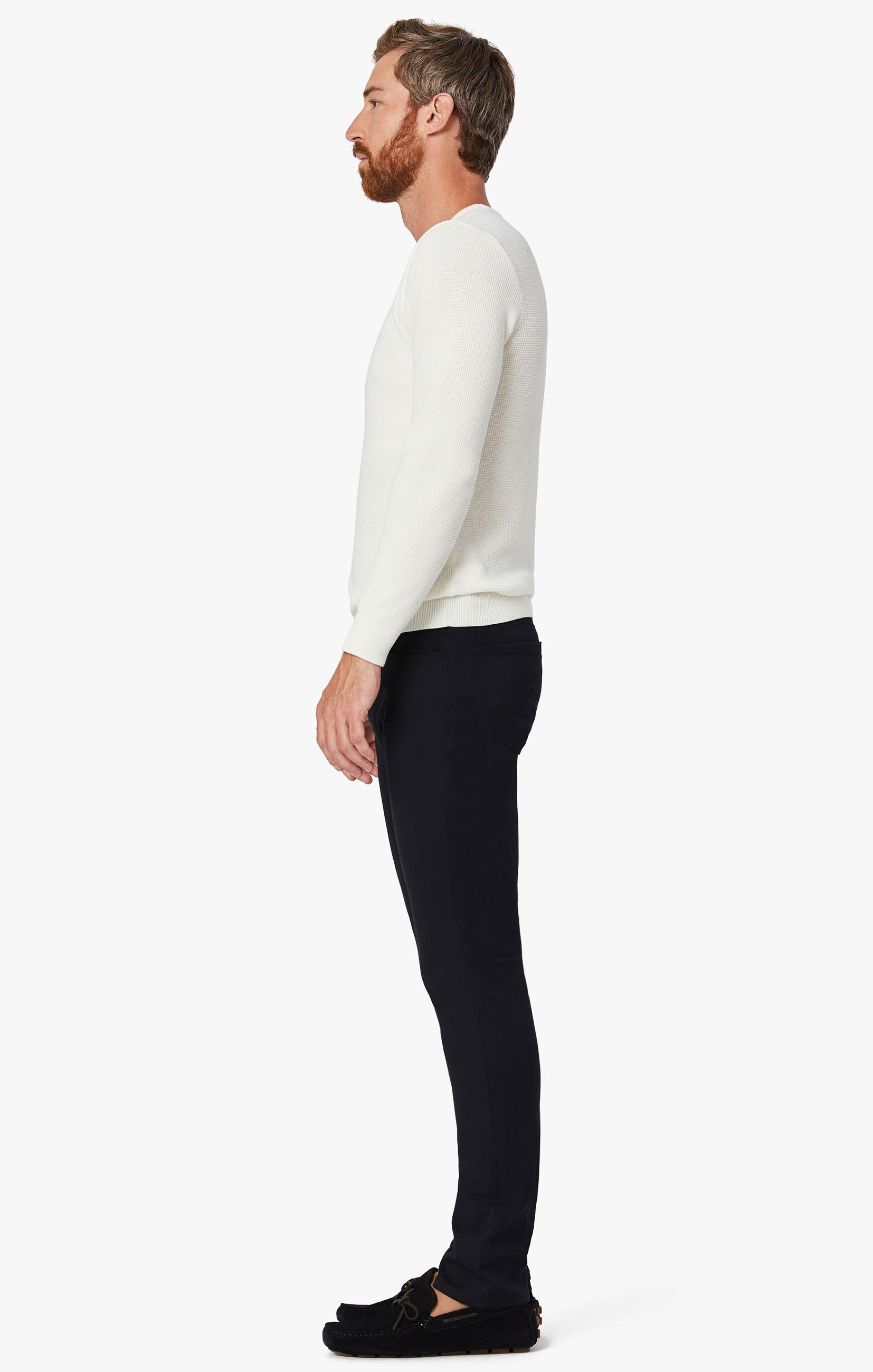 Charisma Classic Fit Pants in Navy Winter Cashmere Image 3