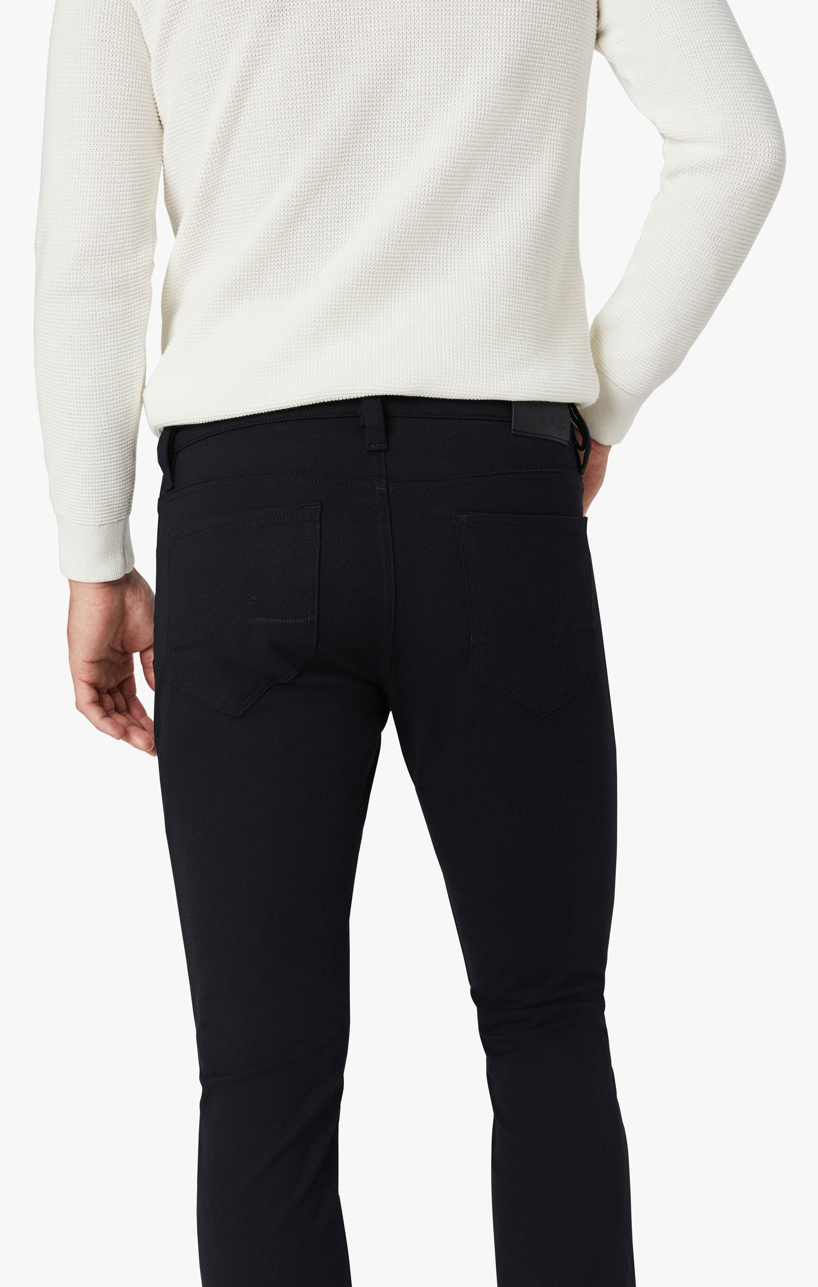 Charisma Classic Fit Pants in Navy Winter Cashmere Image 5