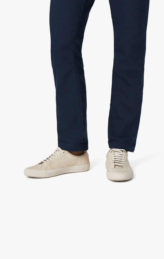 Charisma Relaxed Straight Commuter Pants In Navy