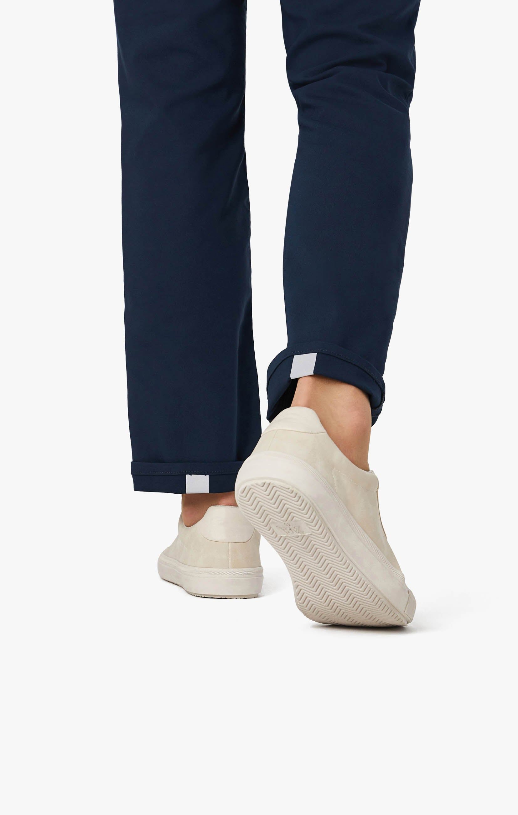 Charisma Relaxed Straight Commuter Pants In Navy Image 8
