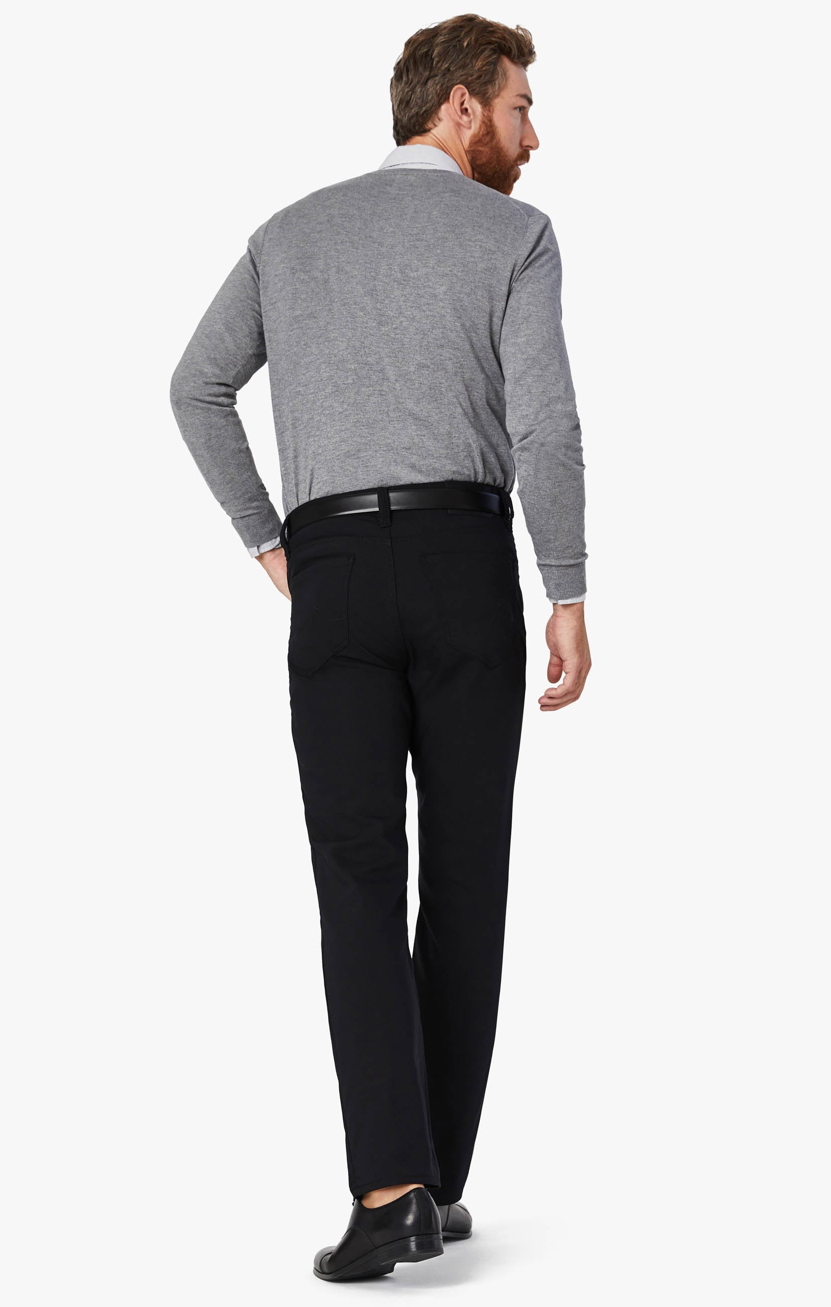 Charisma Relaxed Straight Commuter Pants In Onyx Image 6