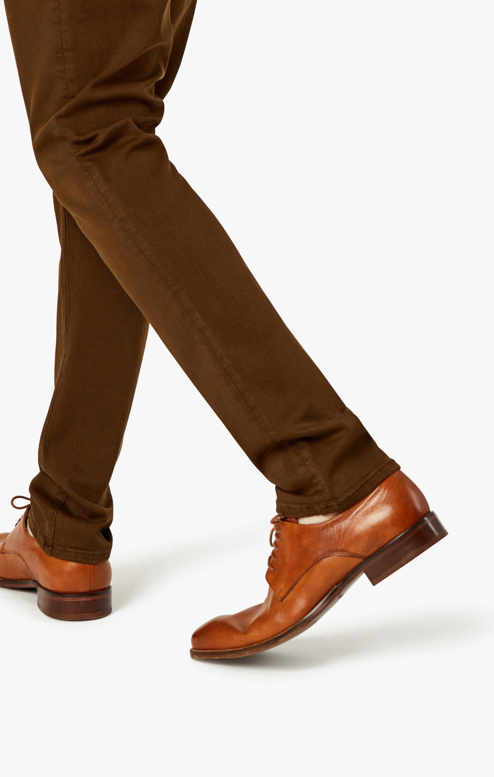 Charisma Relaxed Straight Pants in Brown Comfort Image 9