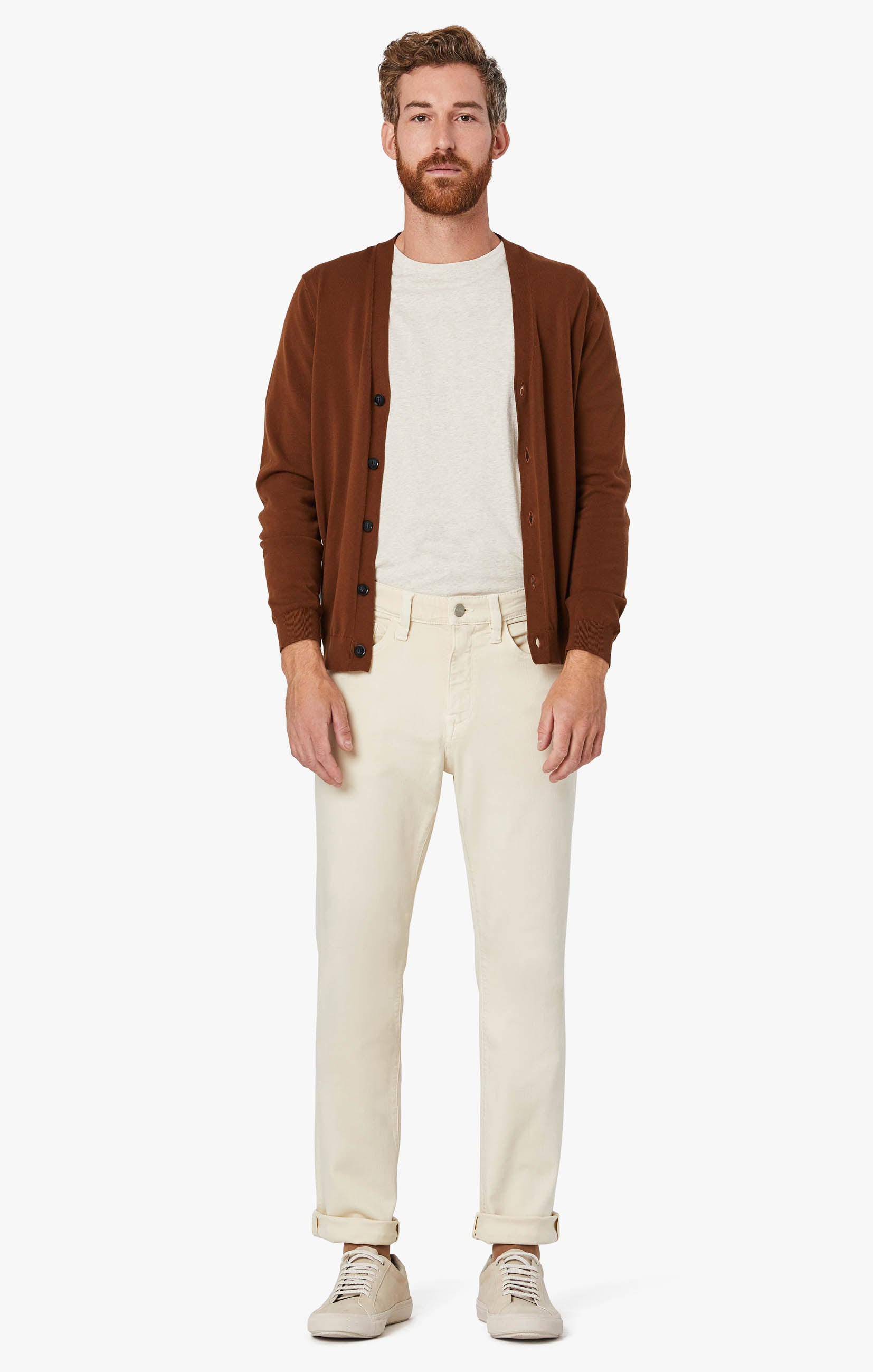 Charisma Relaxed Straight Pants In Natural Comfort Image 8