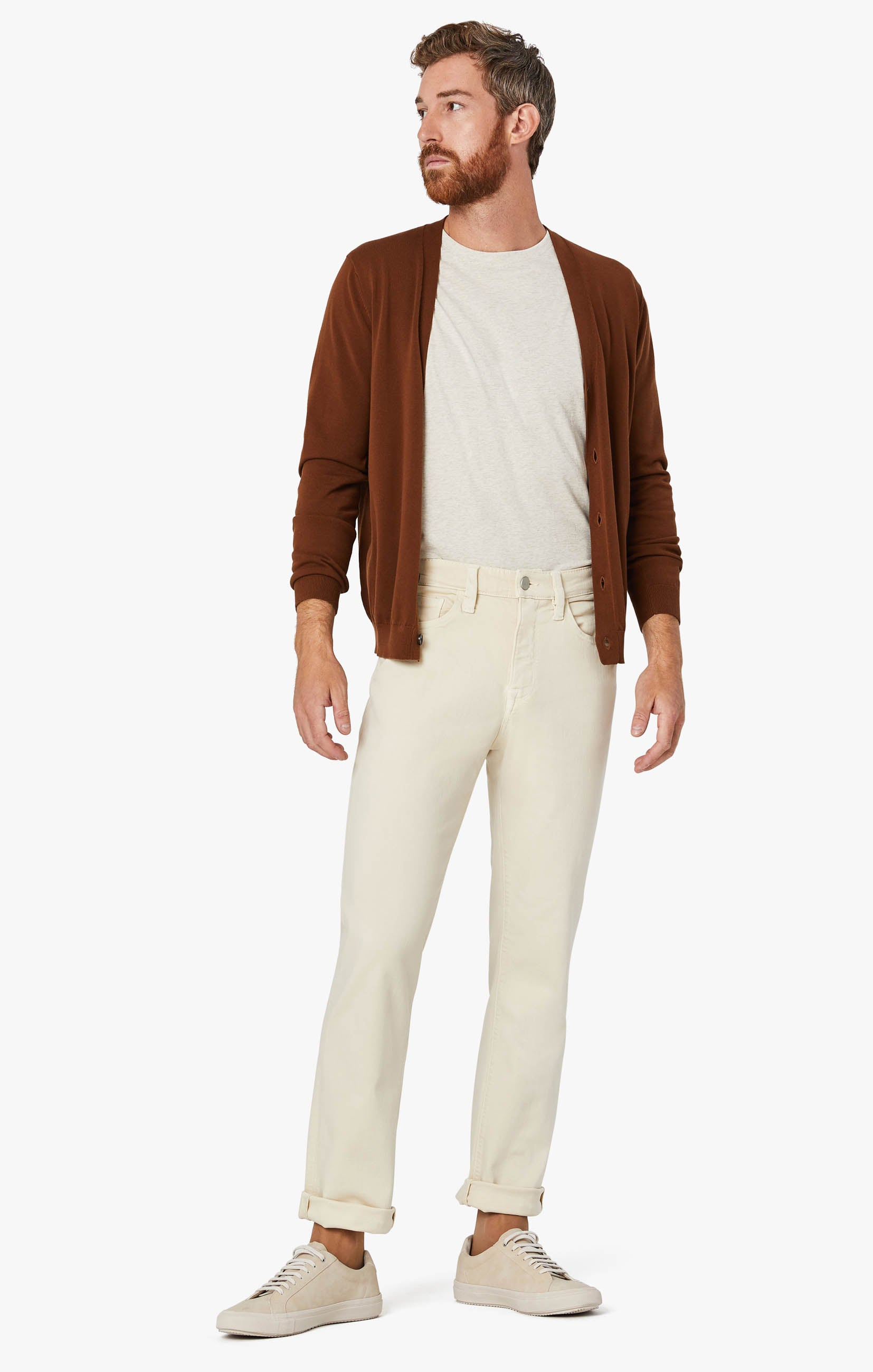 Charisma Relaxed Straight Pants In Natural Comfort Image 9