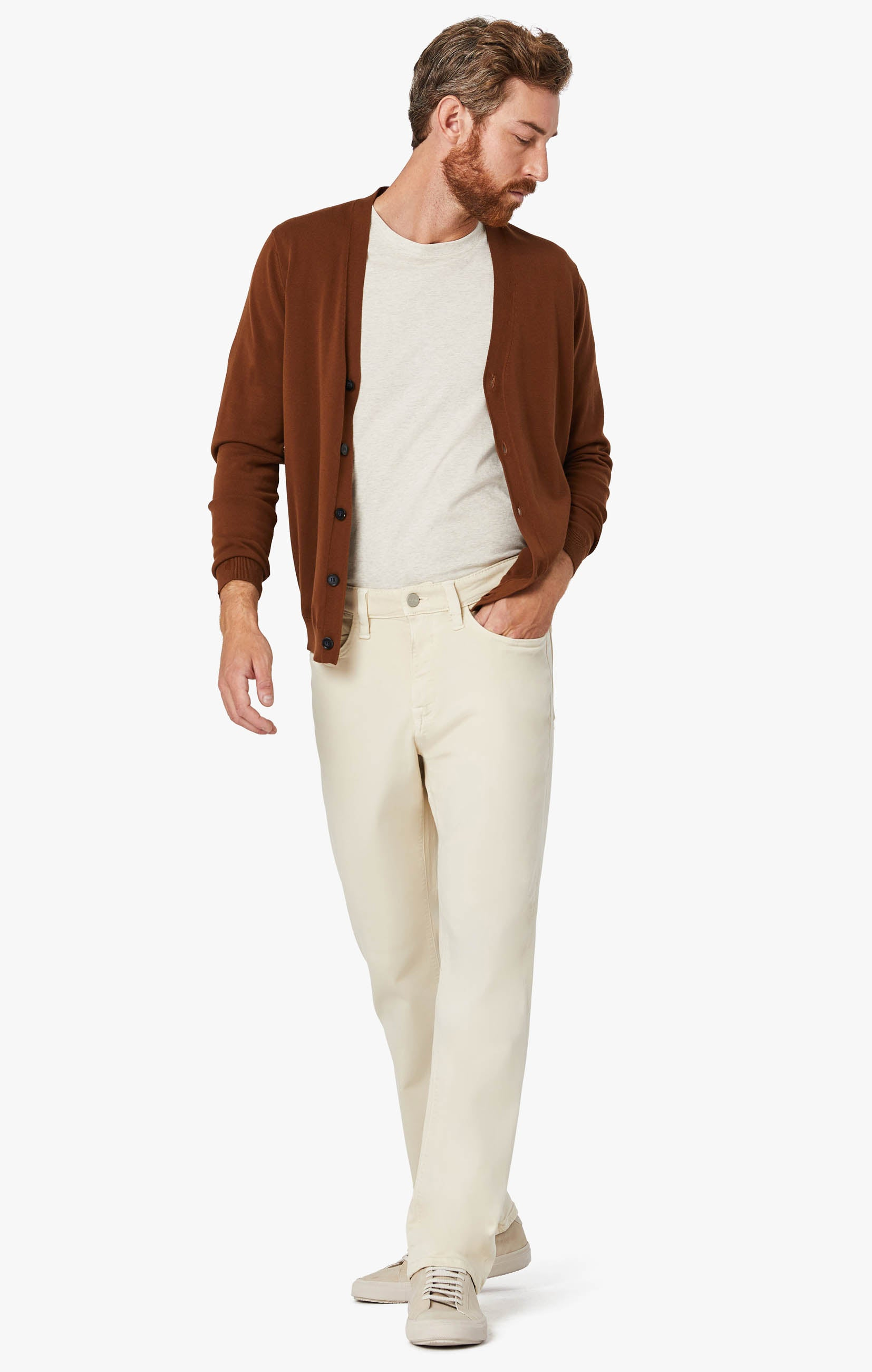 Charisma Relaxed Straight Pants In Natural Comfort Image 1