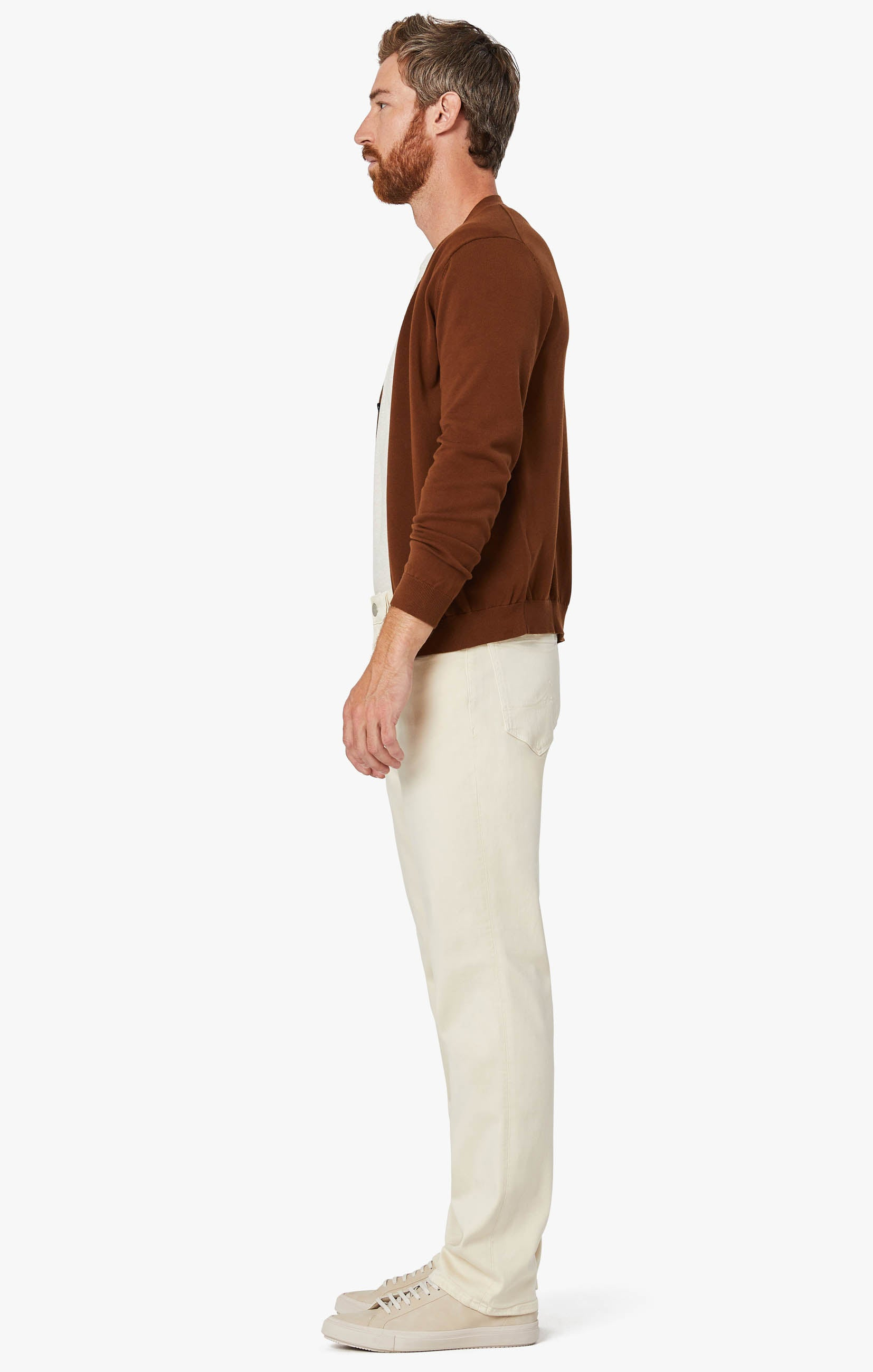 Charisma Relaxed Straight Pants In Natural Comfort Image 10