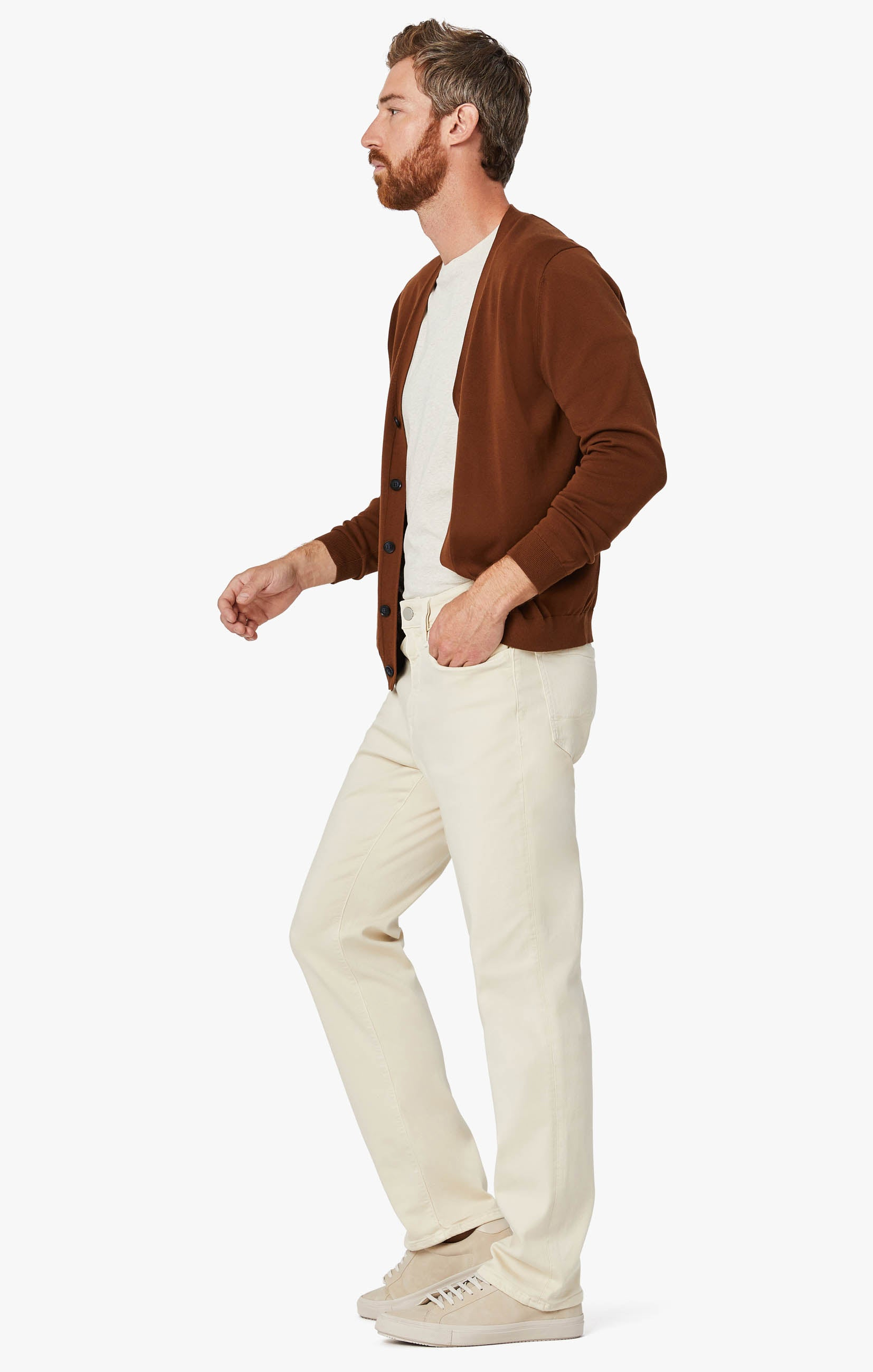 Charisma Relaxed Straight Pants In Natural Comfort Image 2
