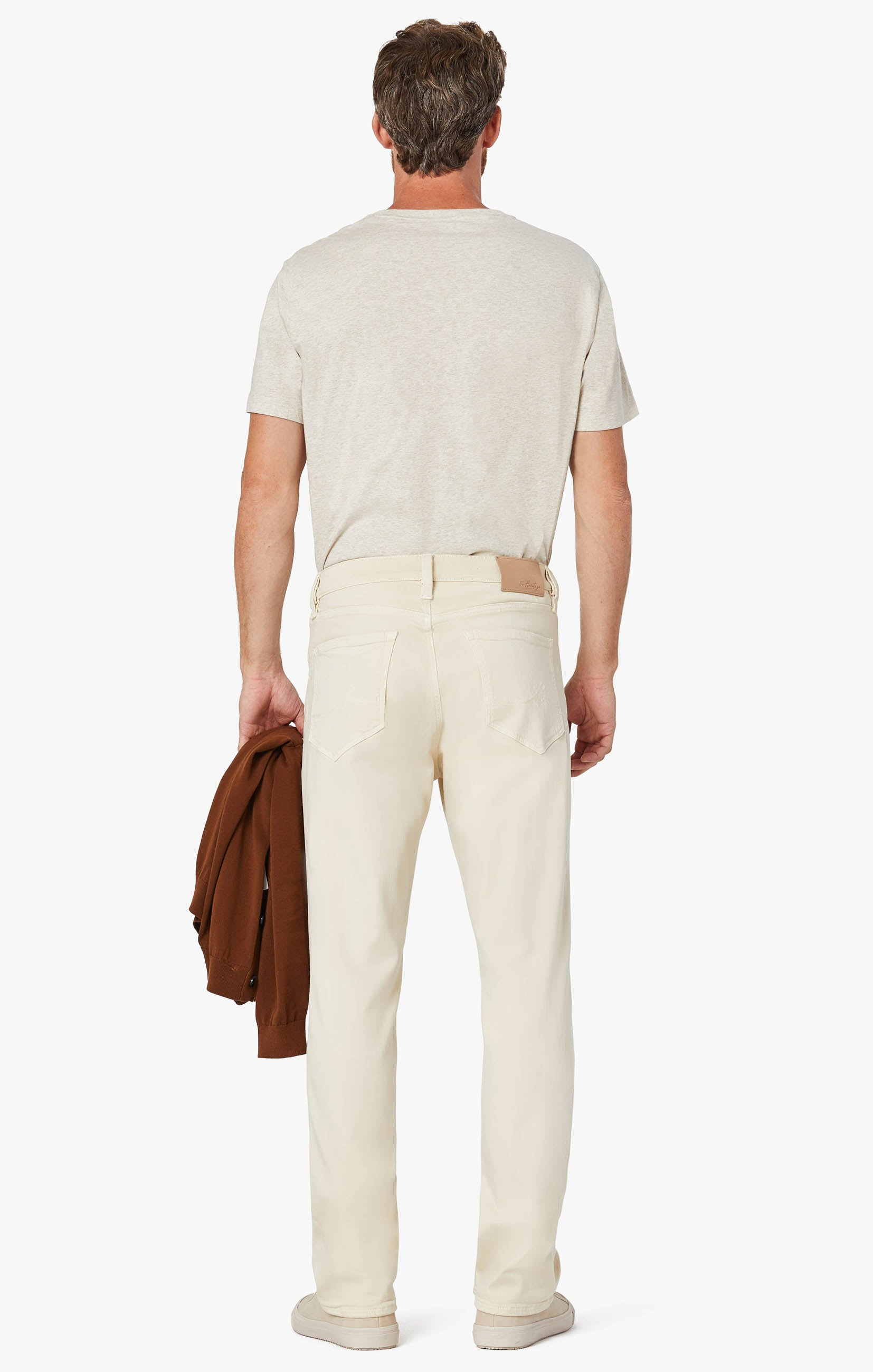 Charisma Relaxed Straight Pants In Natural Comfort Image 3