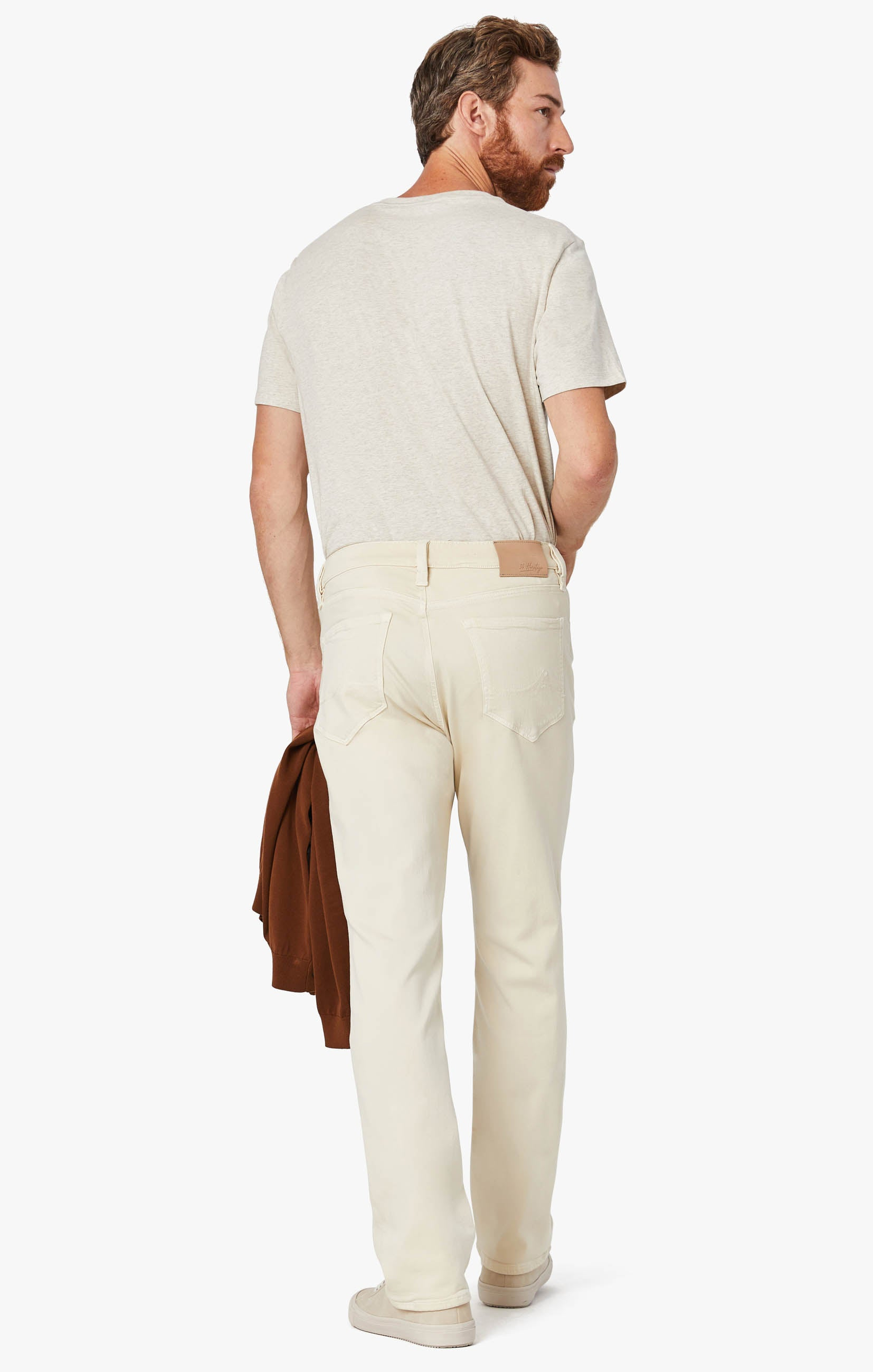 Charisma Relaxed Straight Pants In Natural Comfort Image 4