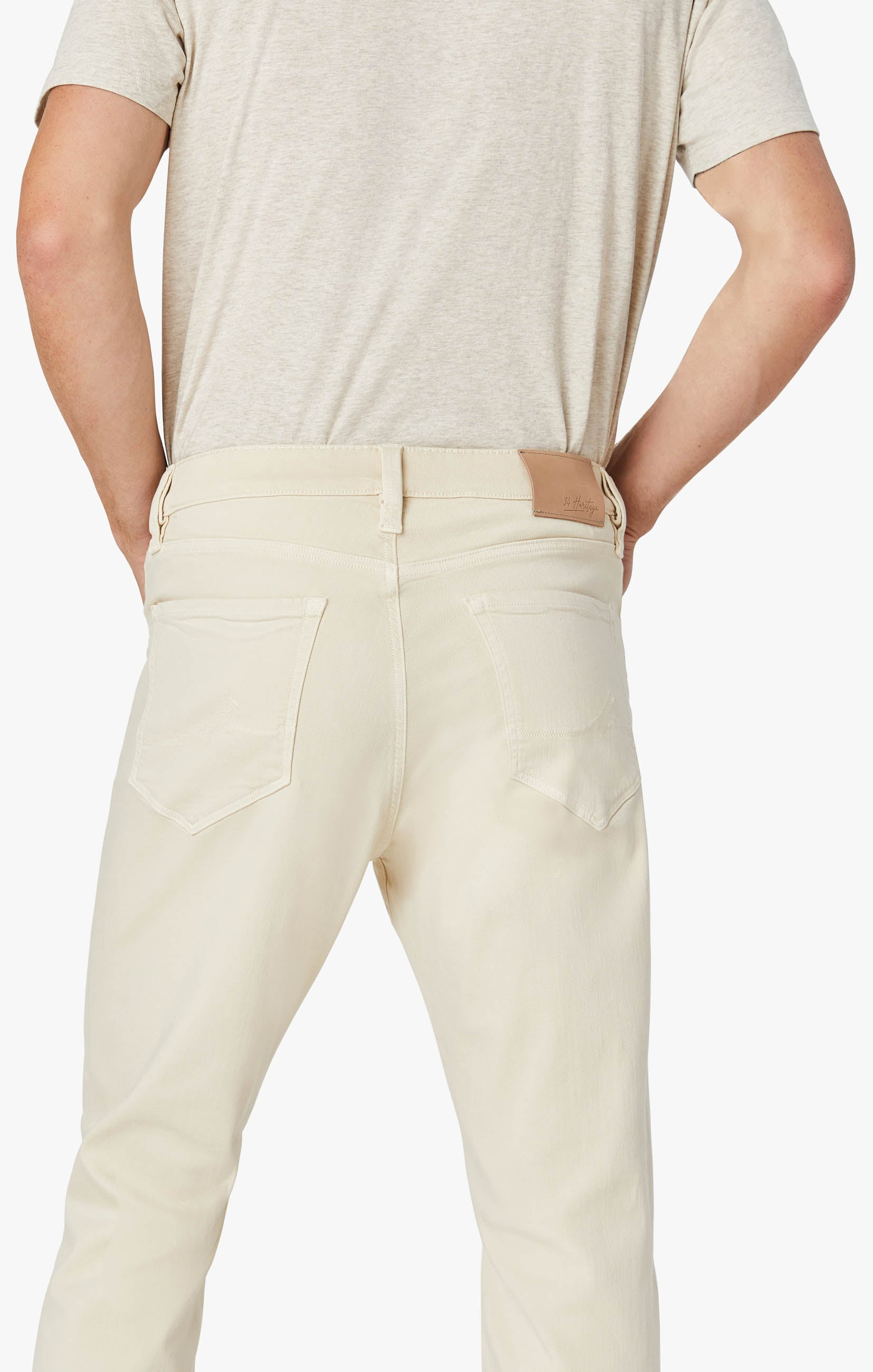 Charisma Relaxed Straight Pants In Natural Comfort Image 5