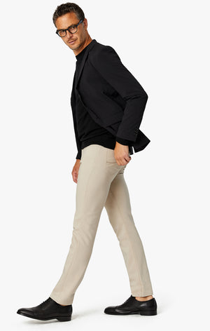 Charisma Relaxed Straight Commuter Pants In Desert