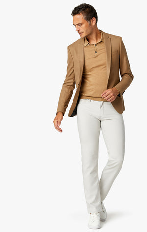 Charisma Relaxed Straight Commuter Pants In Pearl